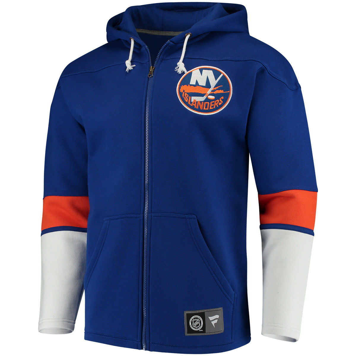 New York Islanders Adult Breakaway Full Zip Hoodie