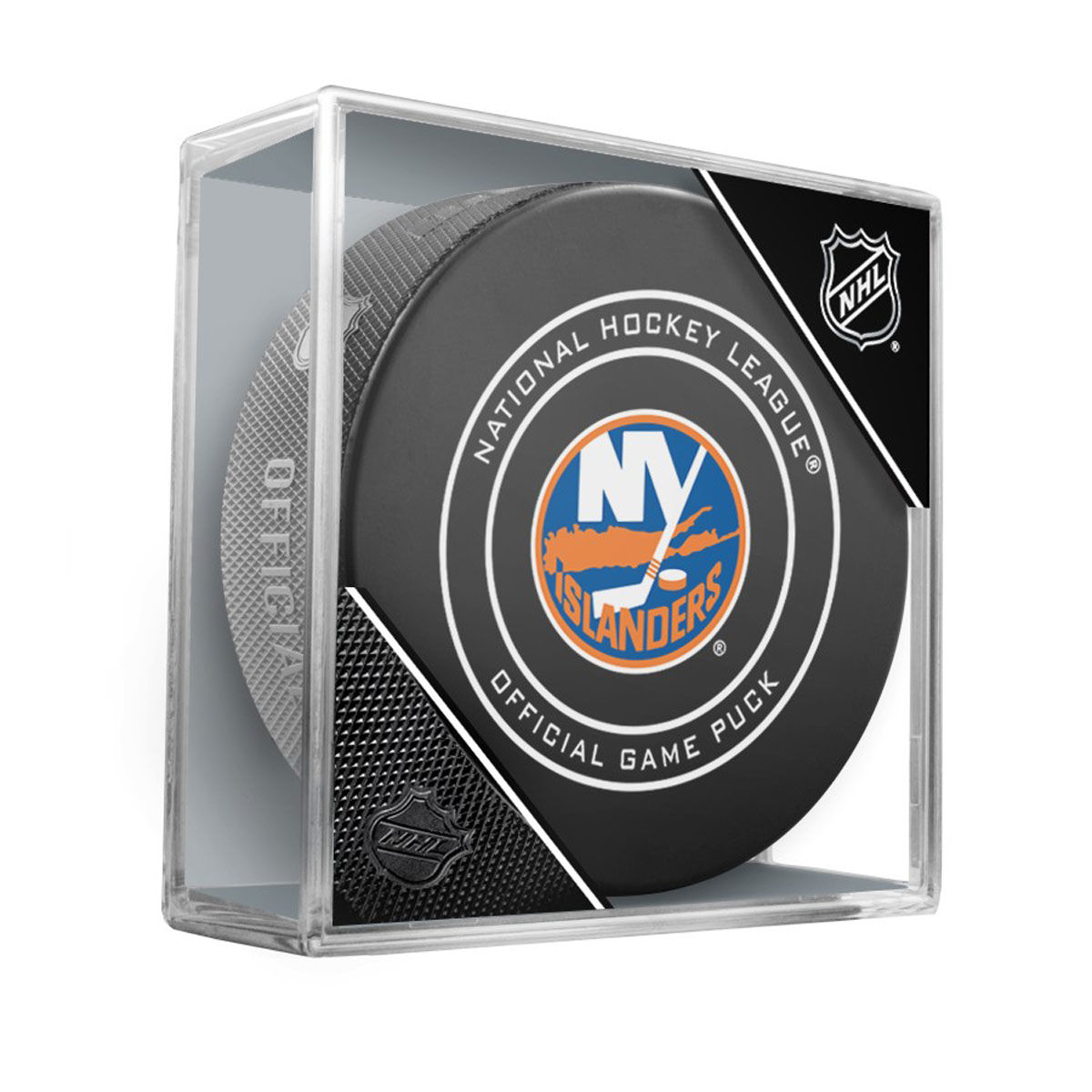 New York Islanders Official Game Puck