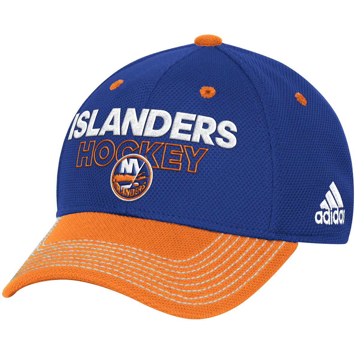 New York Islanders Adult 2017 Locker Room Structured Flex Hat