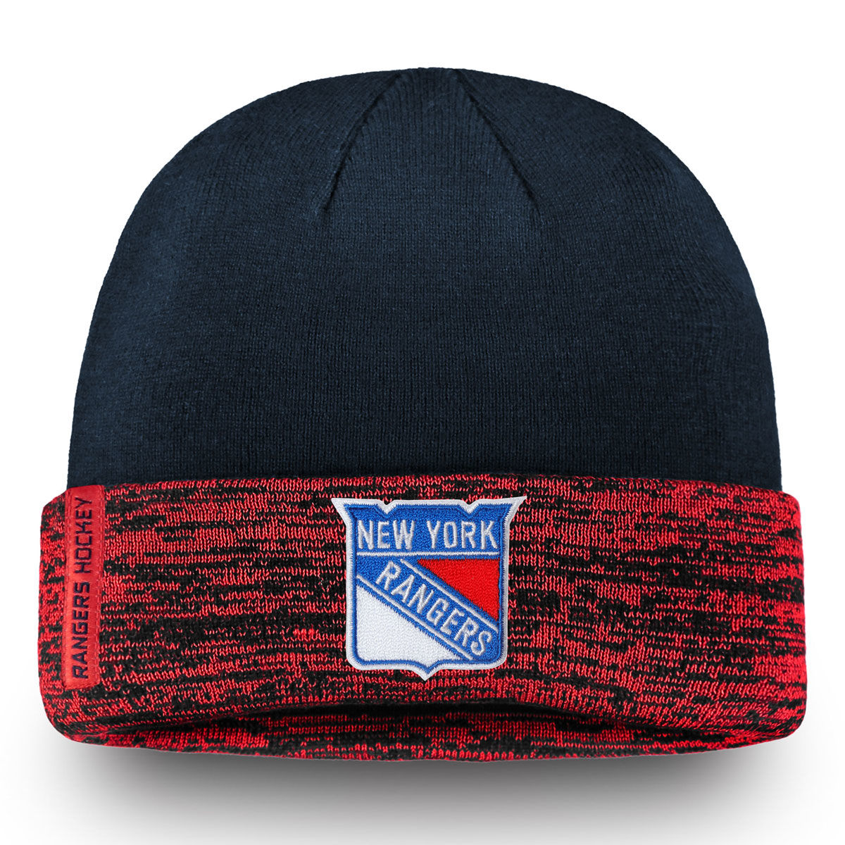 New York Rangers Adult 2018 Rinkside Cuffed Knit Beanie
