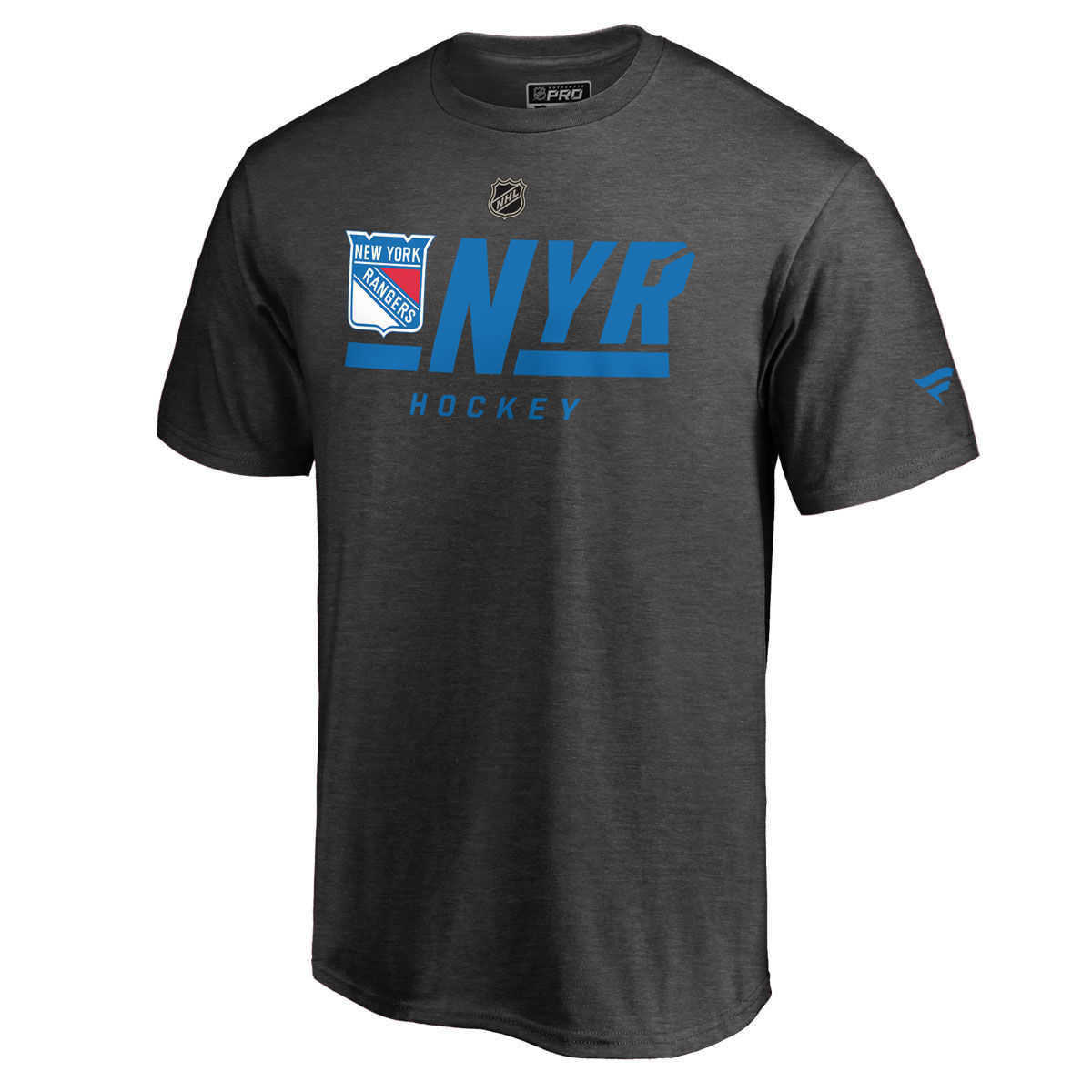 New York Rangers Mens Authentic Pro Tricode T-Shirt