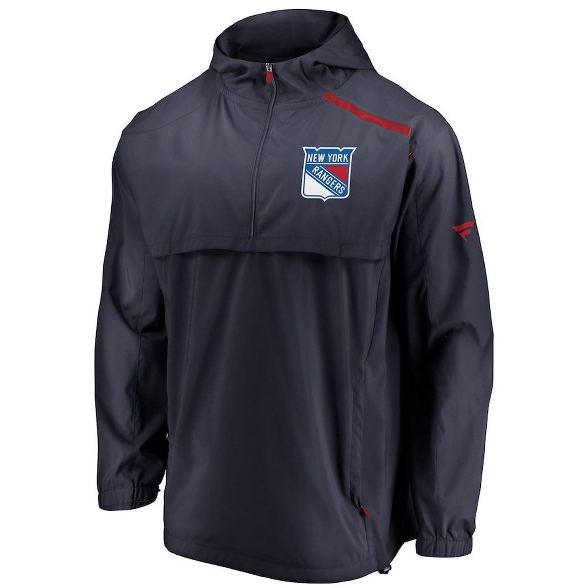 New York Rangers Authentic Pro Rinkside 1/4 Zip Anorak Jacket