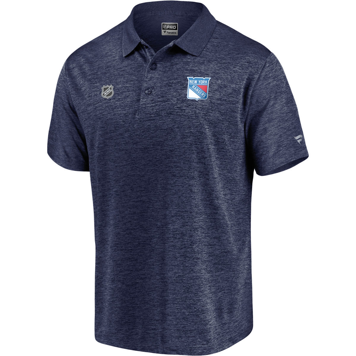 New York Rangers Mens Pro Clutch Polo