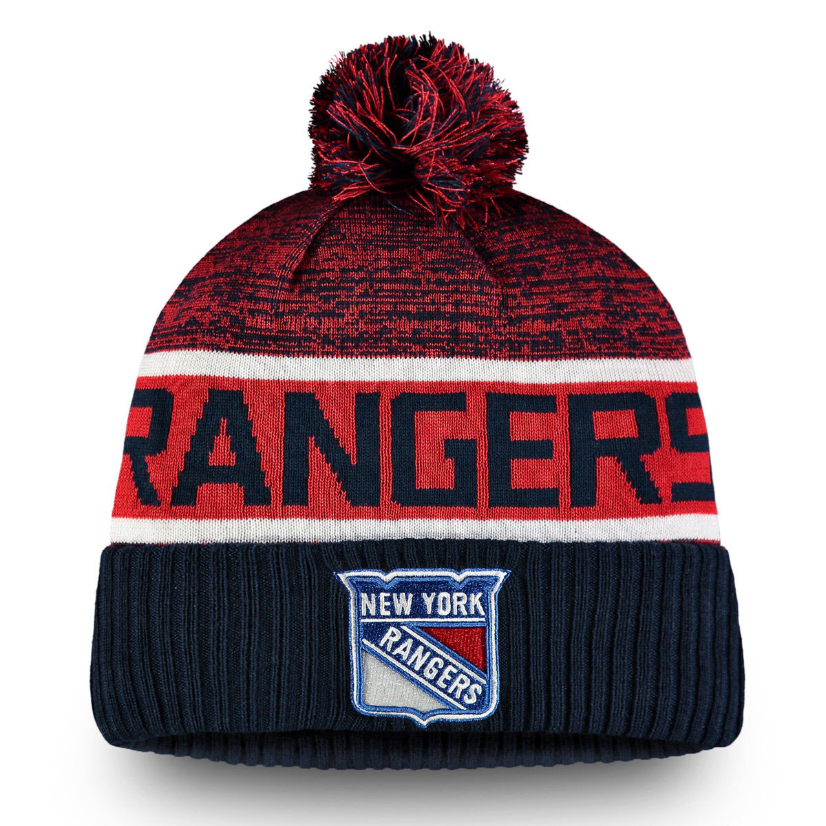 New York Rangers Adult Authentic Pro Knit Hat