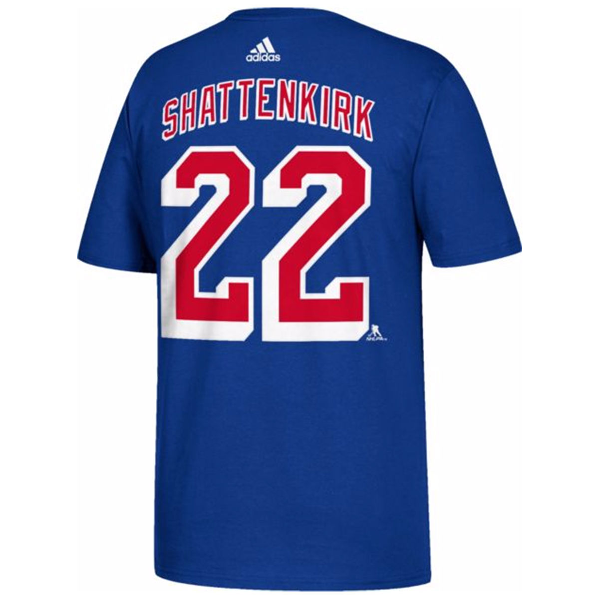 New York Rangers Adult Kevin Shattenkirk Name & Number T-Shirt