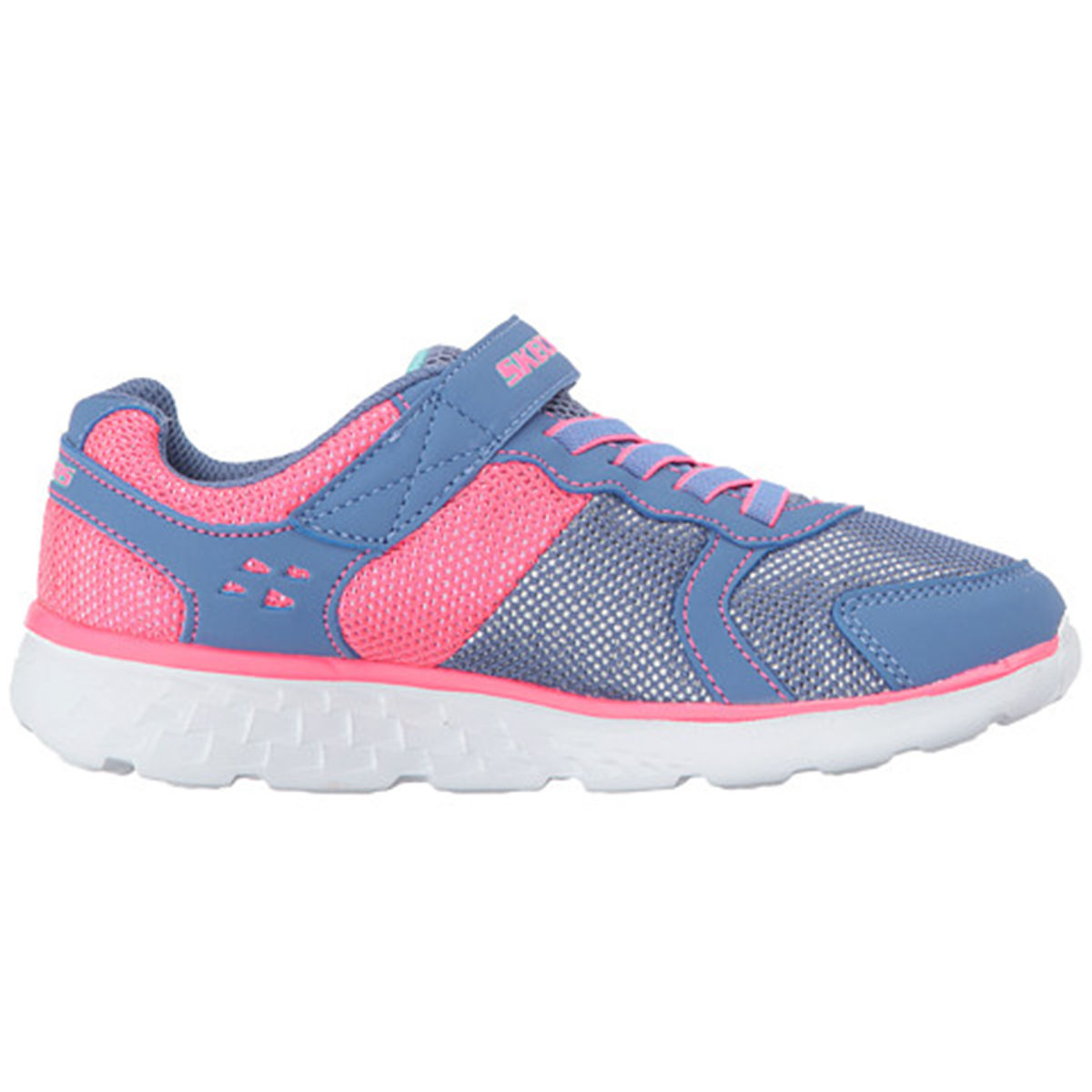 Skechers Go Run Preschool Girls Casual Shoe