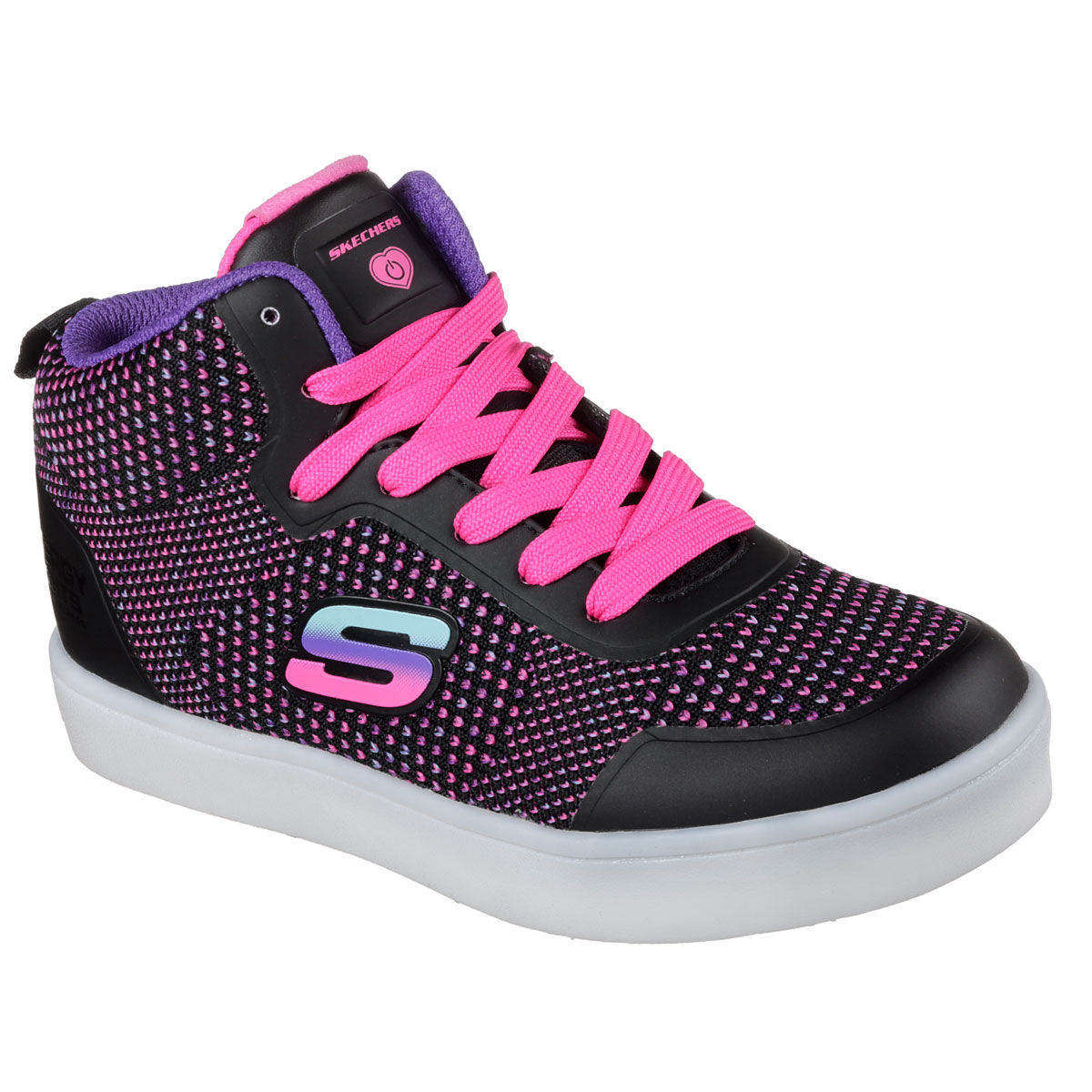 Skechers Energy Lights Grade School Kids Casual Shoe