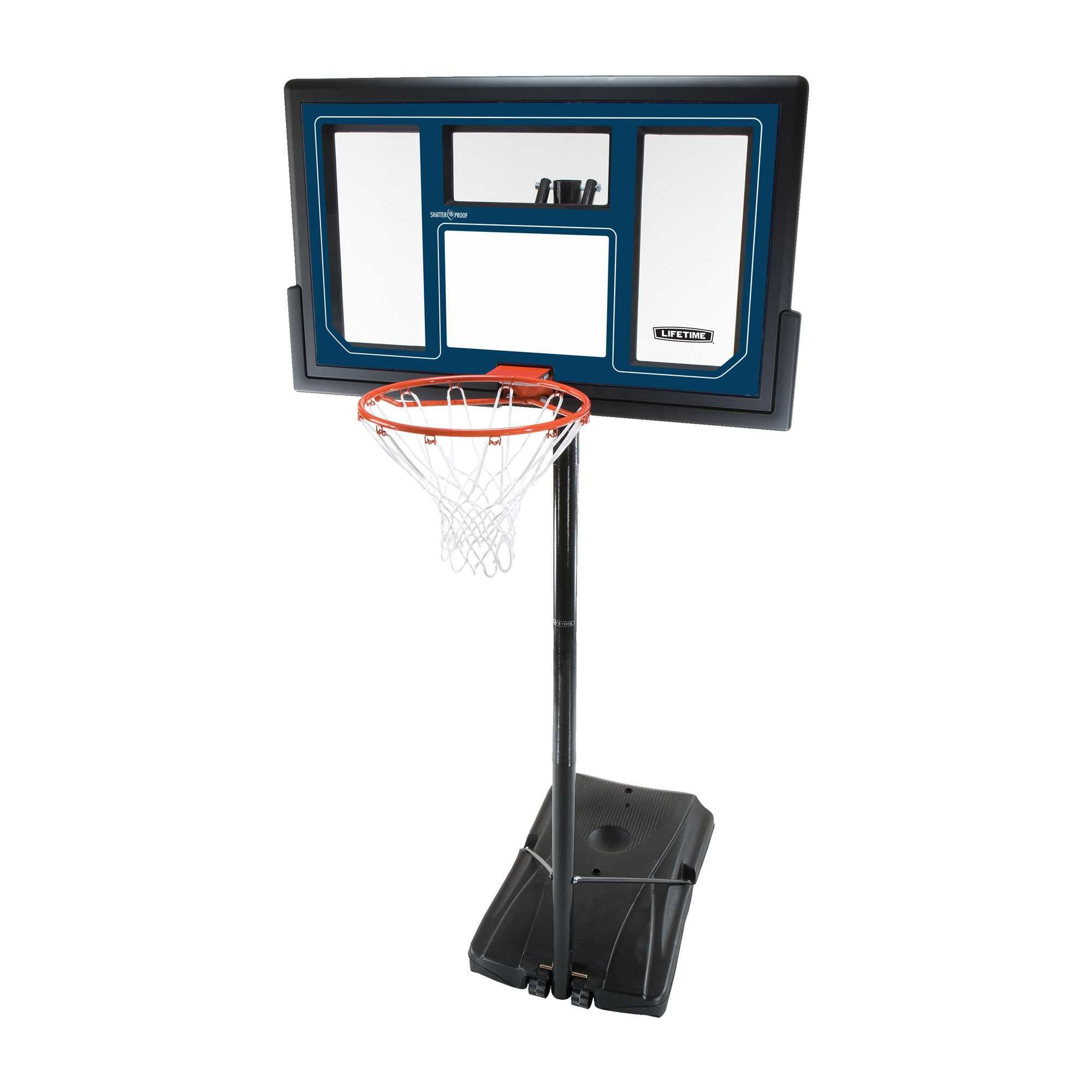 Lifetime 50 Inch Courtside Portable Basketball Hoop System