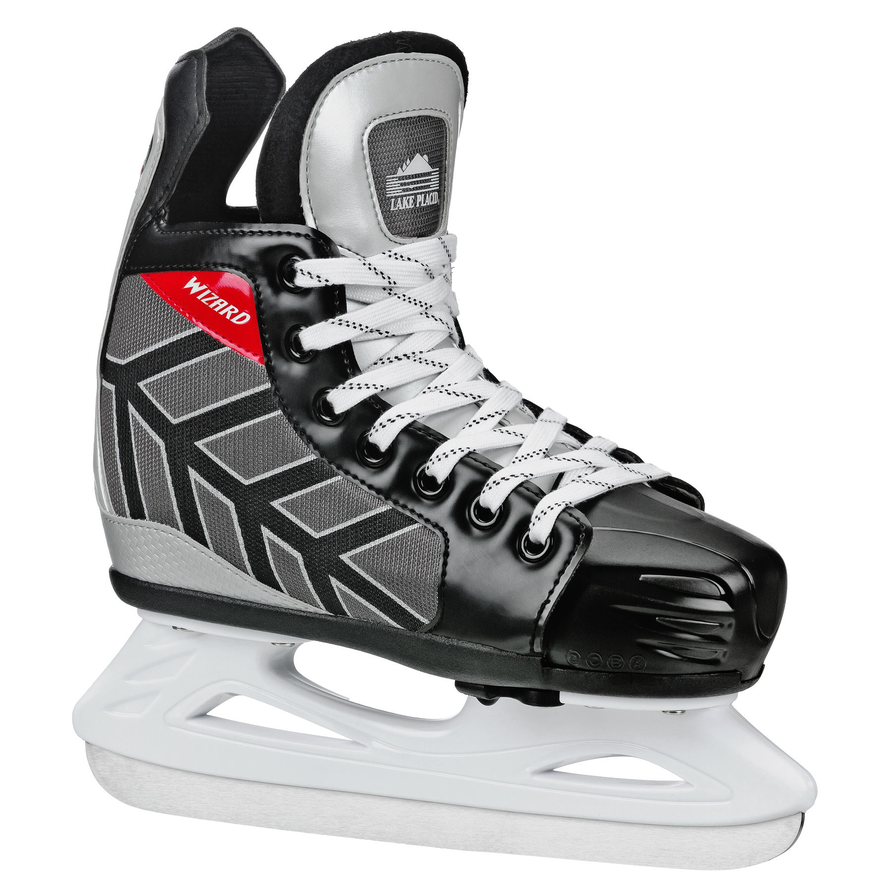 Lake Placid Wizard 400 Adjustable Boys Ice Hockey Skates