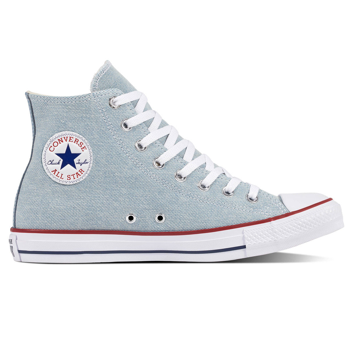 Converse Chuck Taylor All Star Worn In High Top Womens Casual Shoe
