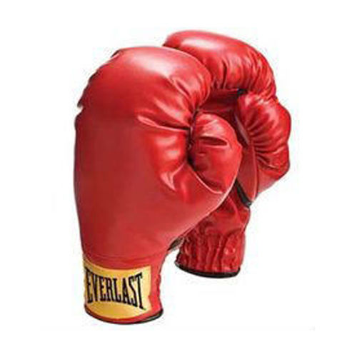 Everlast Youth Laceless Boxing Training Gloves Red