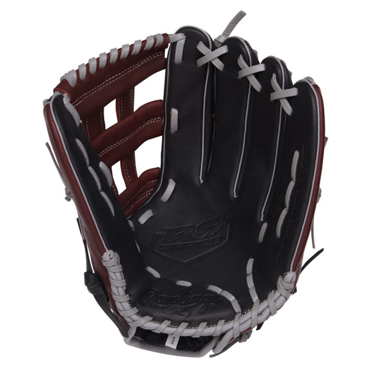 Rawlings R9 Series 12.75 Inch Adult Right Hand Throw Baseball Glove