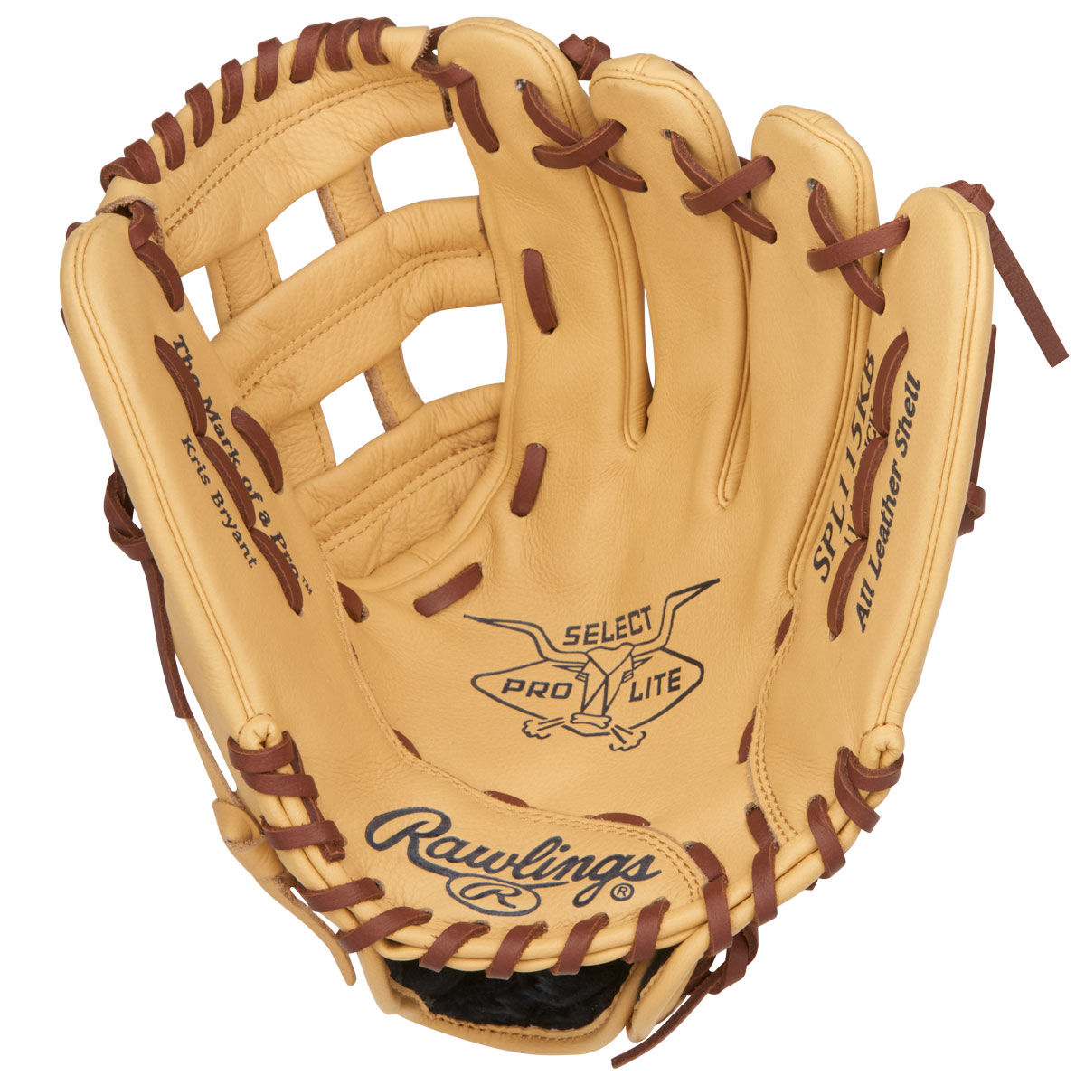 Rawlings Select Pro Lite Kris Bryant Right Hand Throw 11.5 Inch Youth Baseball Glove