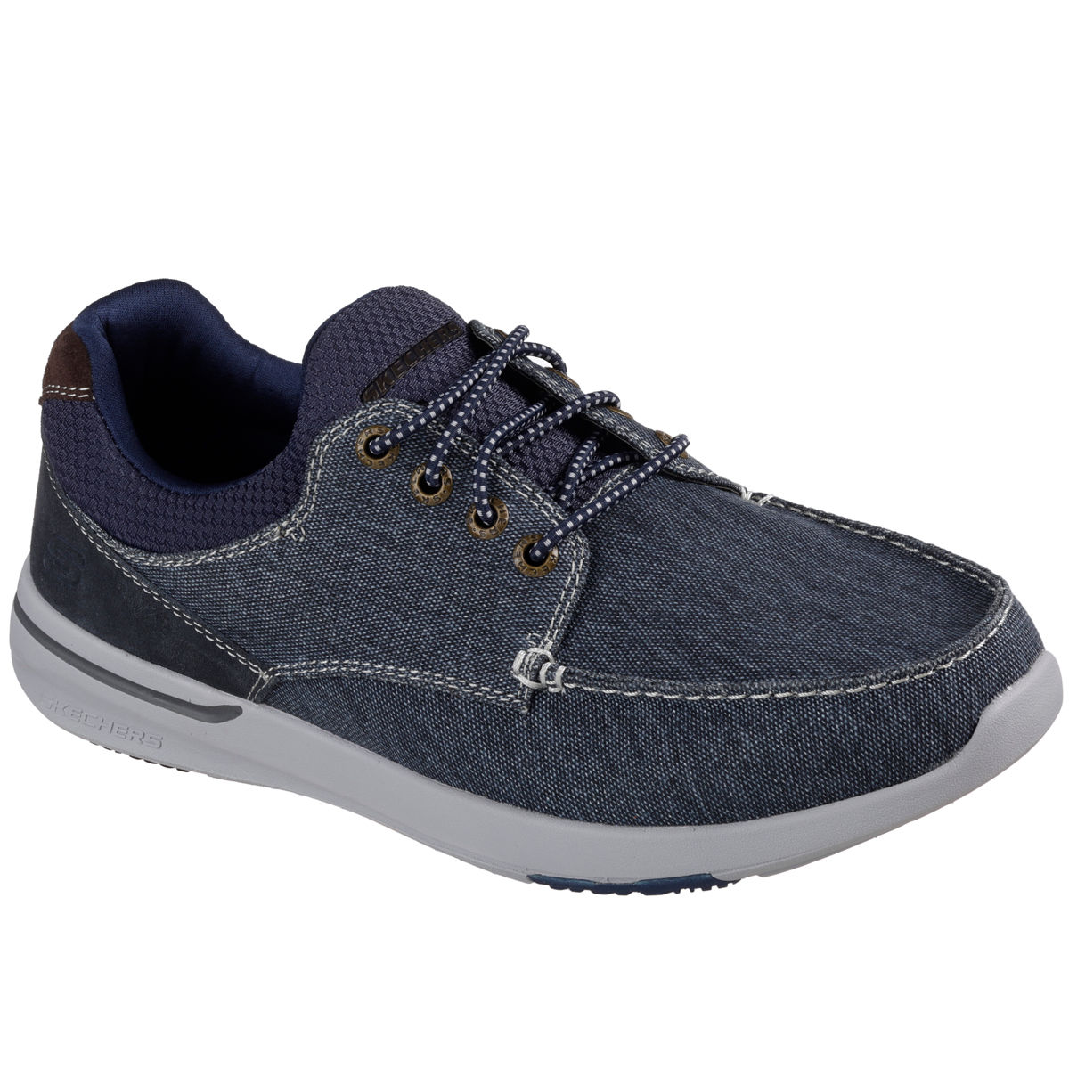 Skechers Relaxed Fit Elent Mosen Mens Boat Shoe