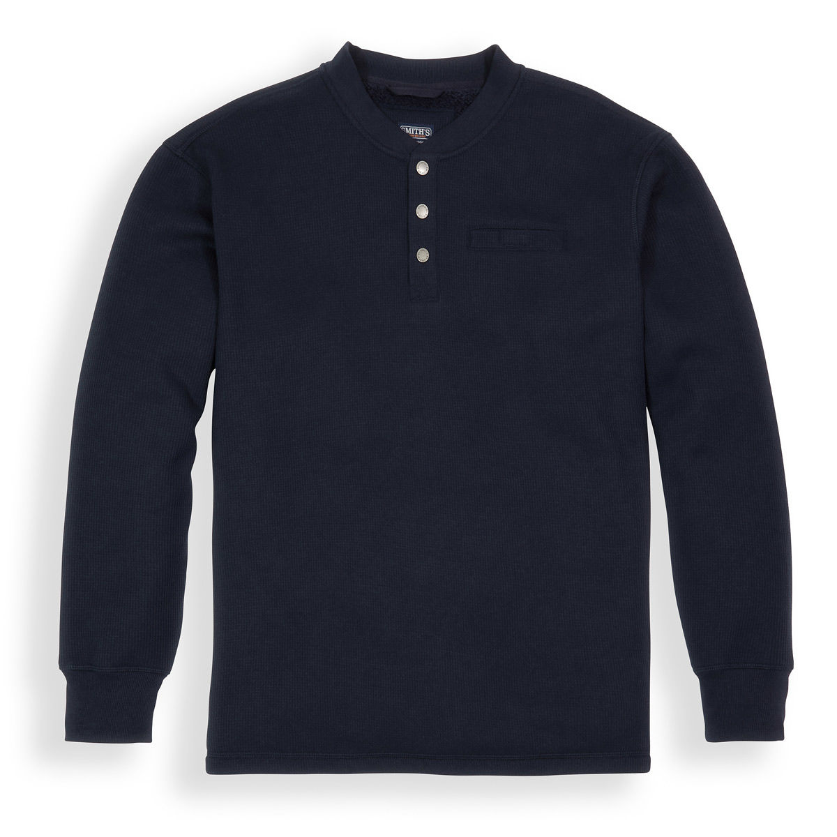 Smiths Thermal Bonded Mens Henley