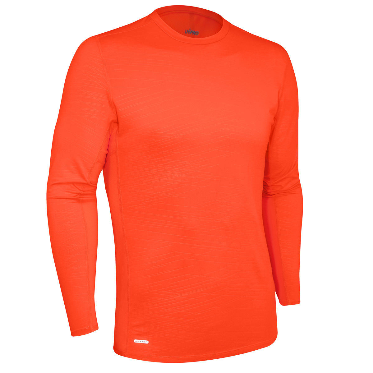 UniPro Mens Embossed Compression Crew