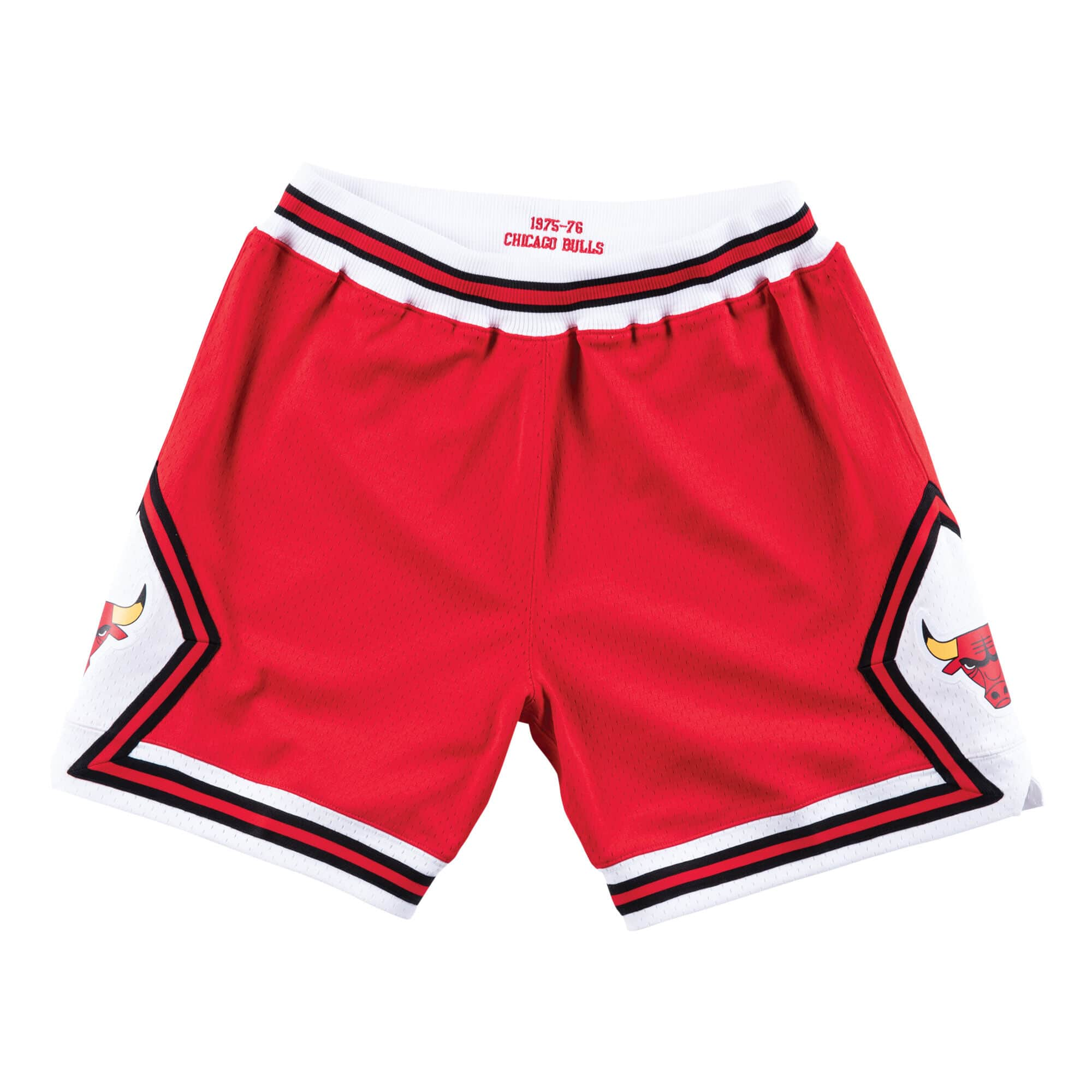 Authentic Shorts Chicago Bulls Road 1975-76