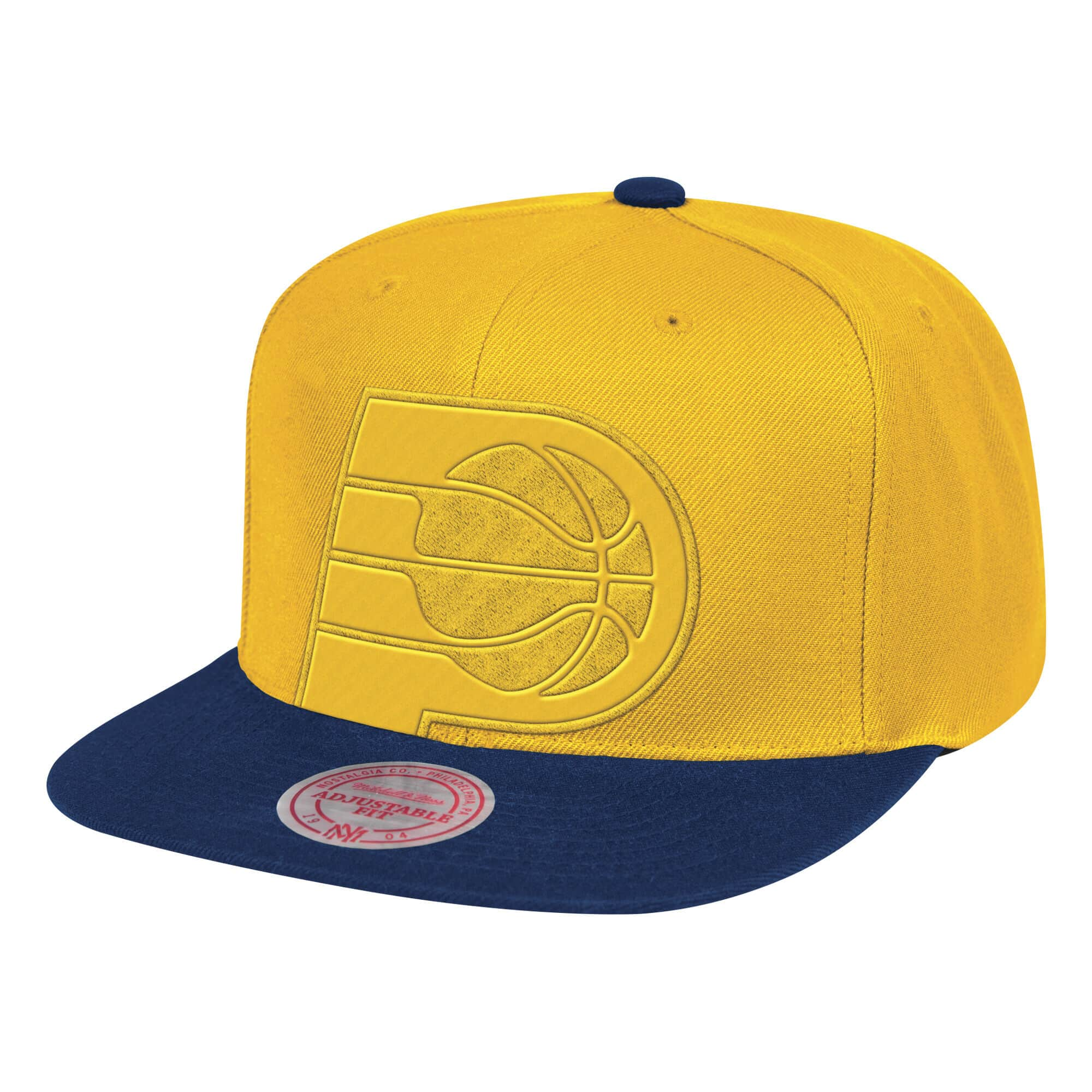 Cropped Satin Snapback Indiana Pacers