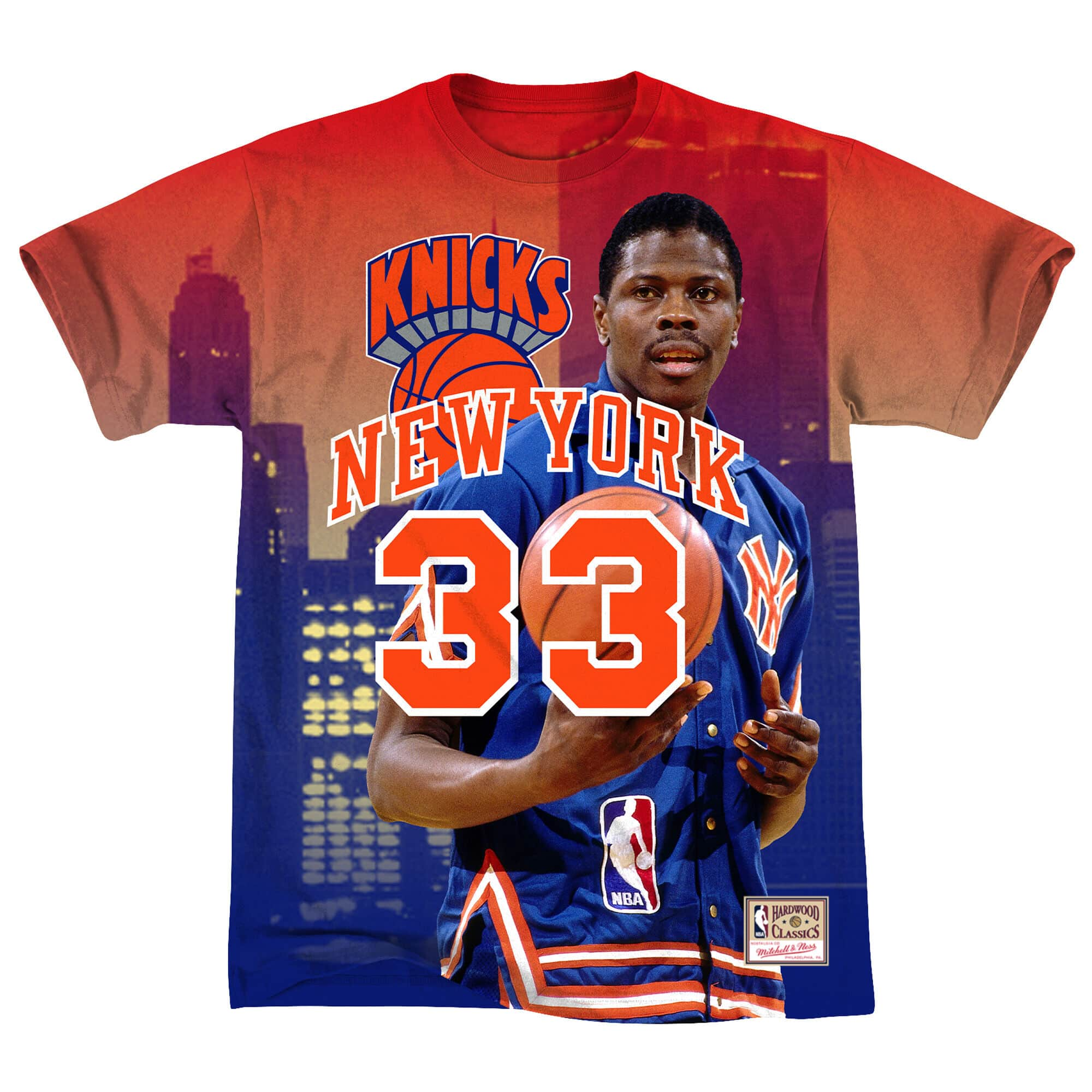 City Pride M&N Tee New York Knicks Patrick Ewing