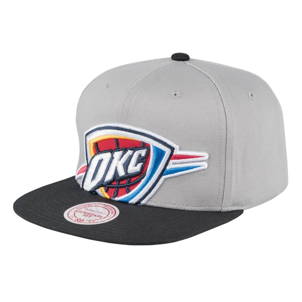 Cropped Split Heather Snapback Oklahoma City Thunder