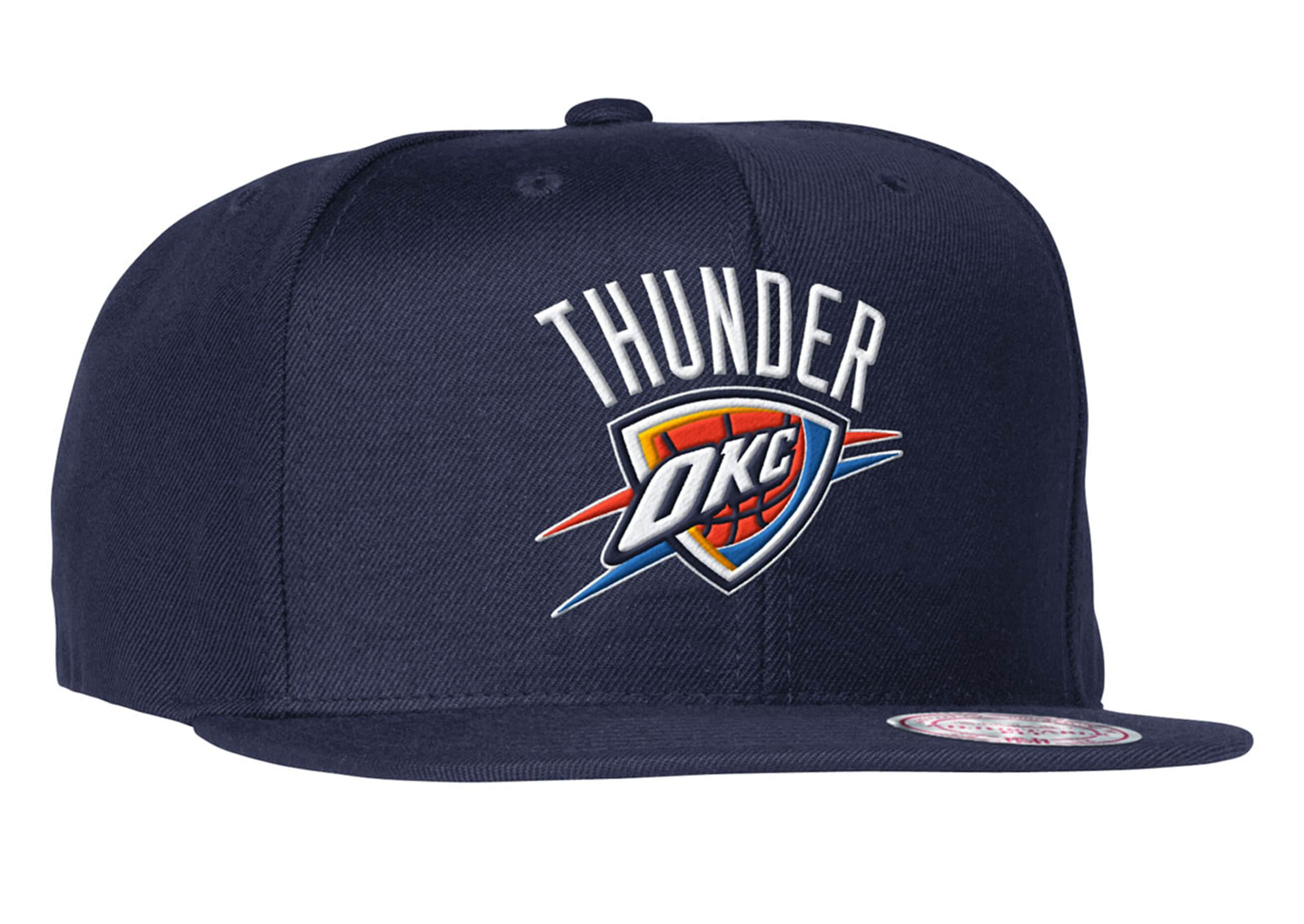 Wool Solid Snapback Oklahoma City Thunder