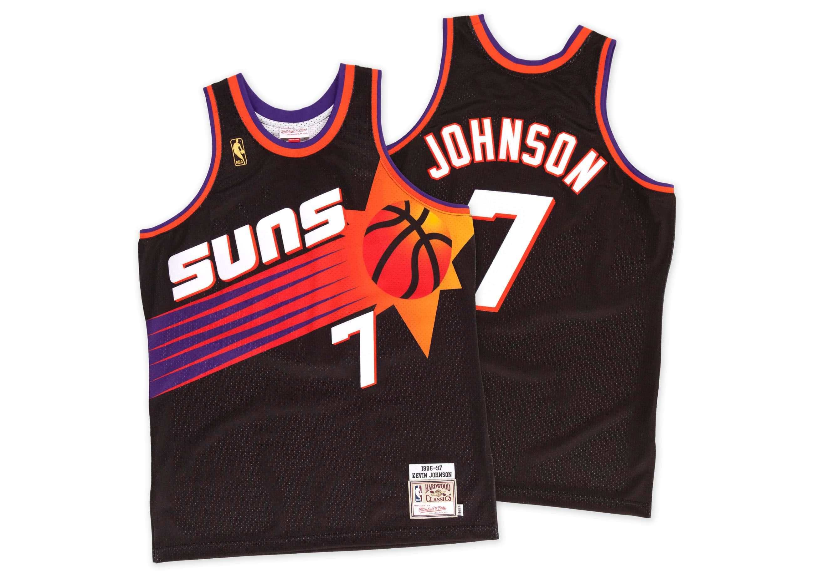 Kevin Johnson 1996-97 Authentic Jersey Phoenix Suns