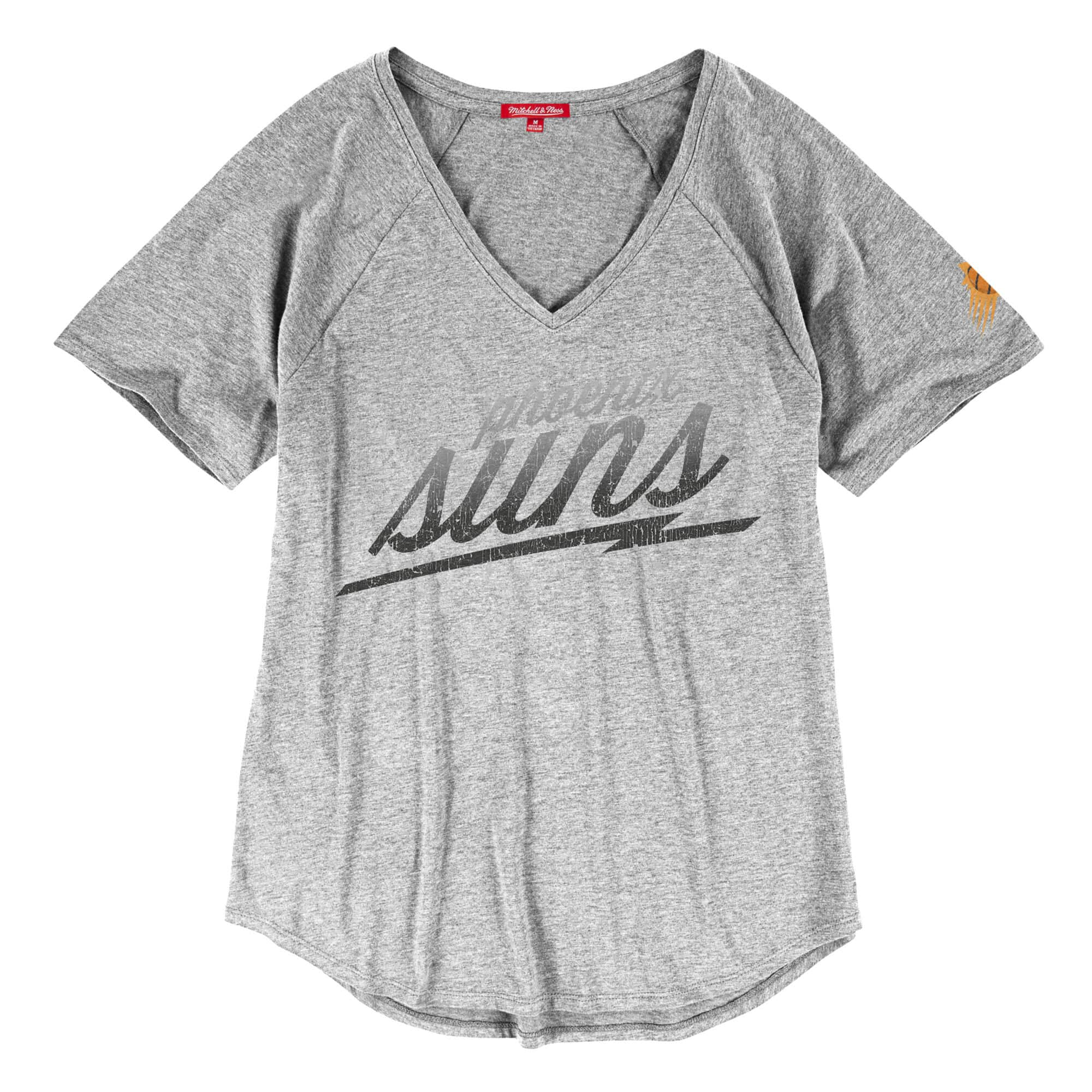 Gradient Fill Women's V-Neck Tee Phoenix Suns