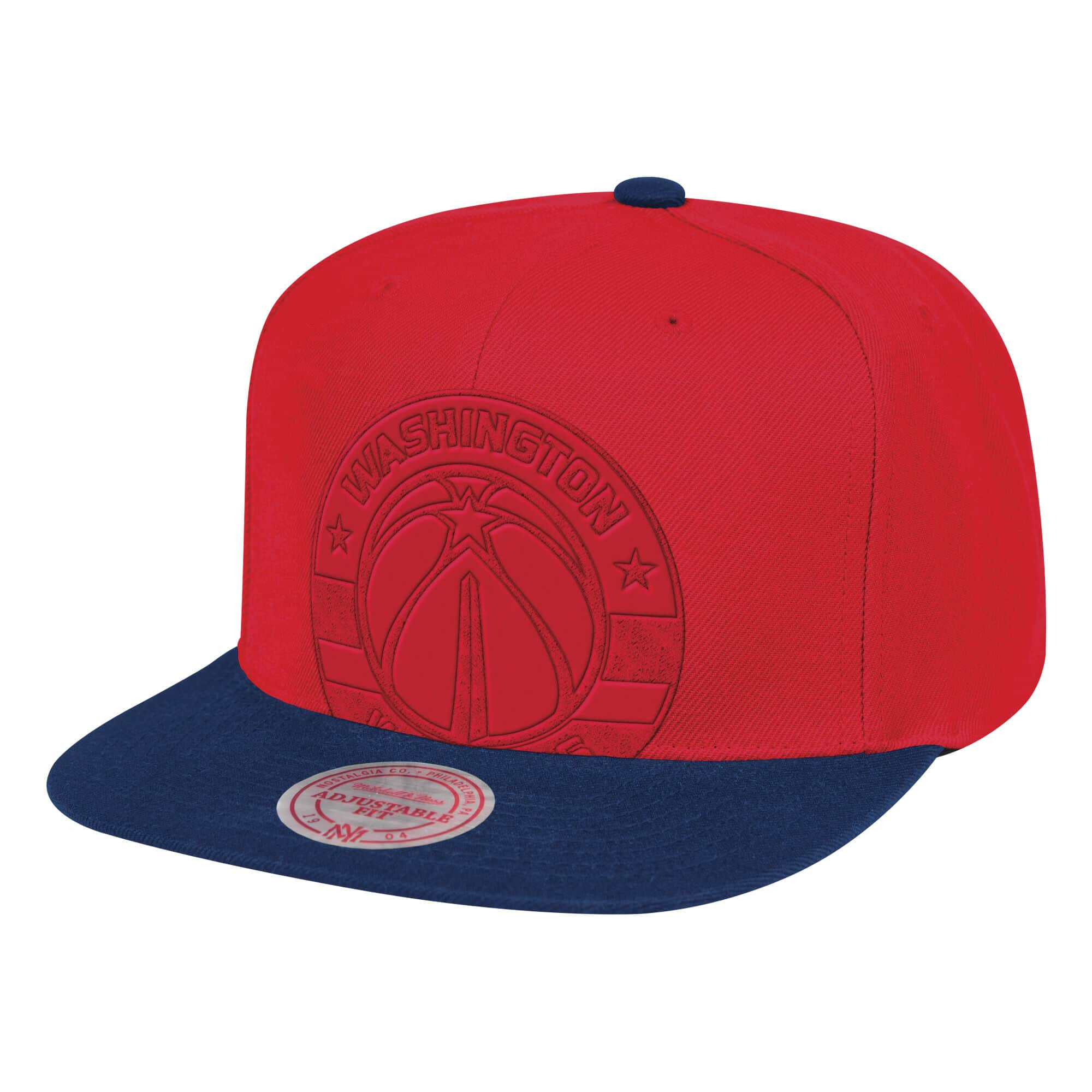 Cropped Satin Snapback Washington Wizards