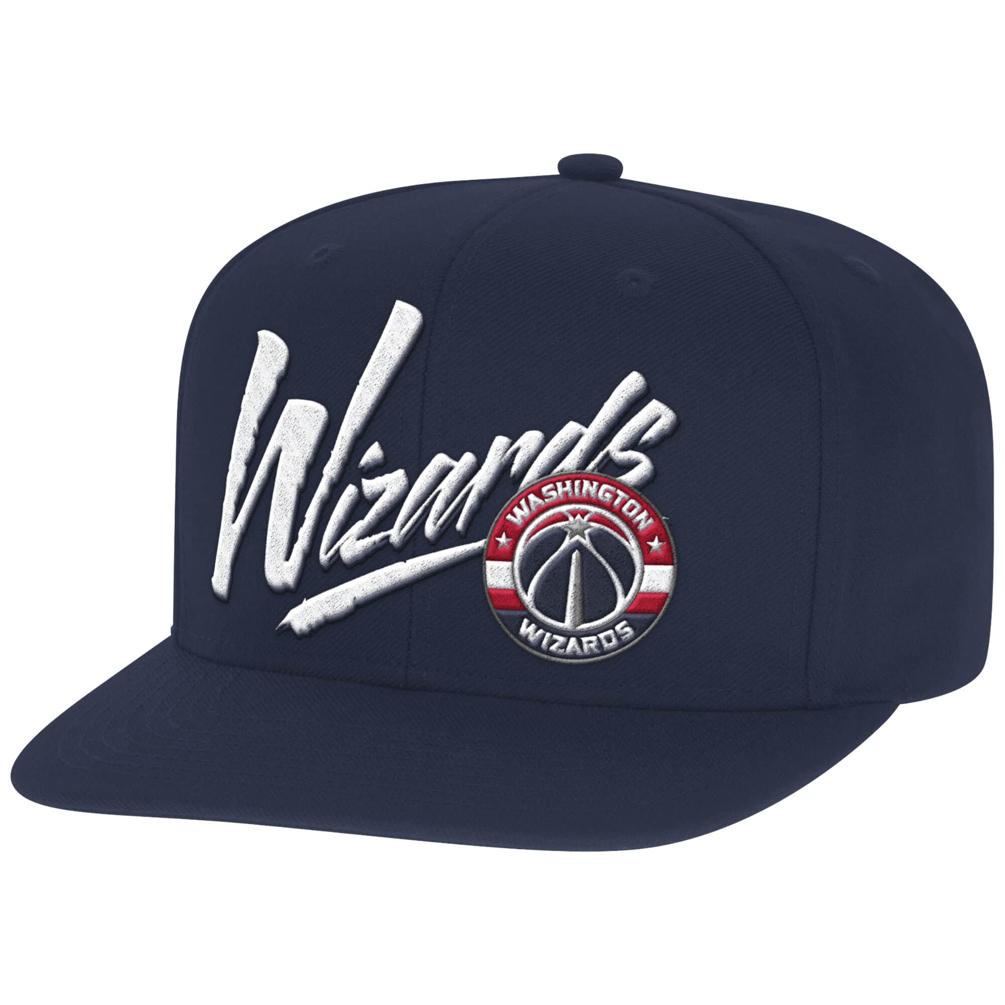 Vice Script Solid Snapback Washington Wizards
