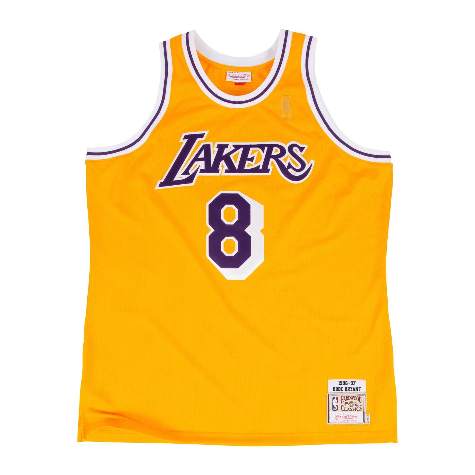 Kobe Bryant 1996-97 Authentic Jersey Los Angeles Lakers