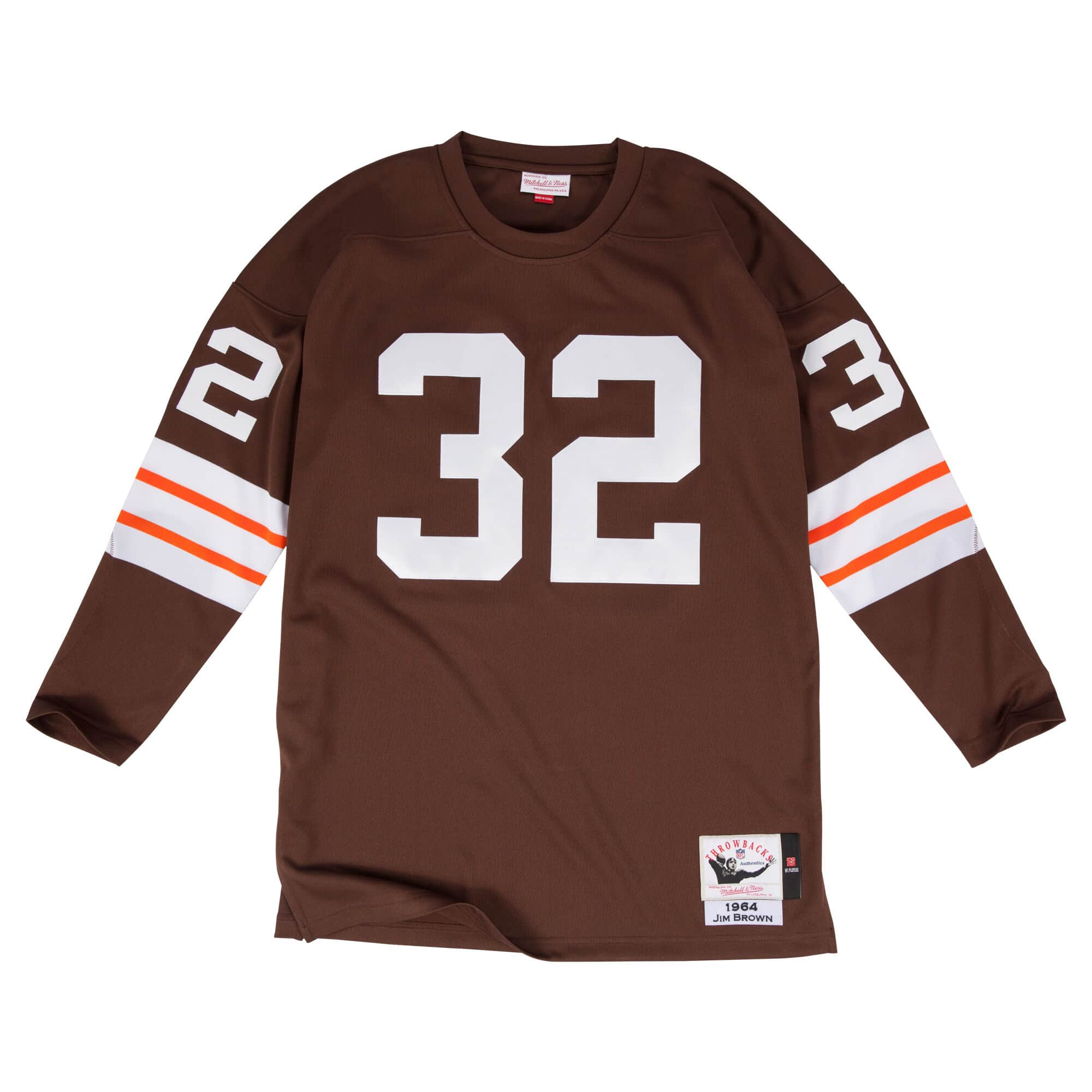 Jim Brown 1964 Authentic Jersey Cleveland Browns