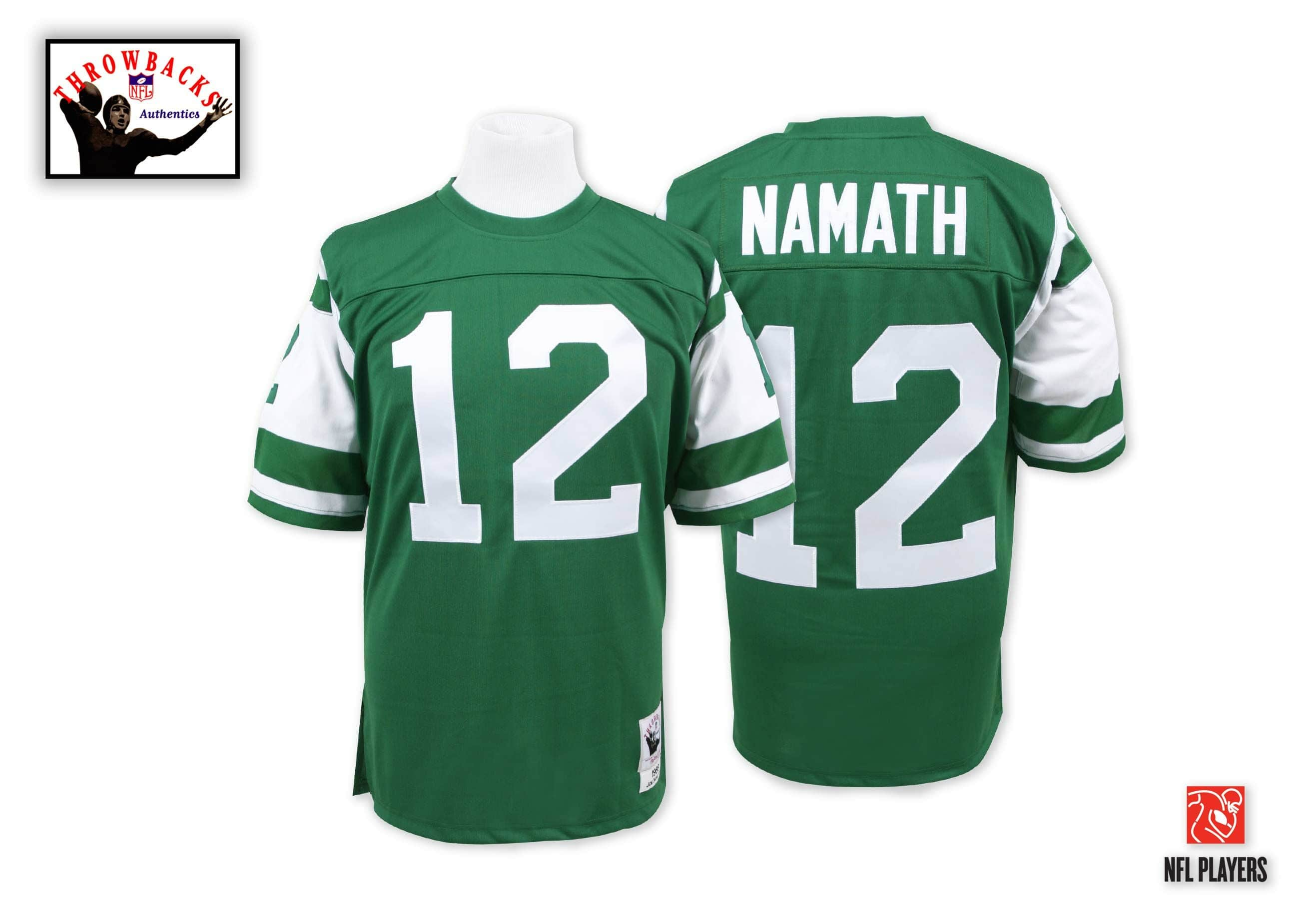 Joe Namath 1968 Authentic Jersey New York Jets