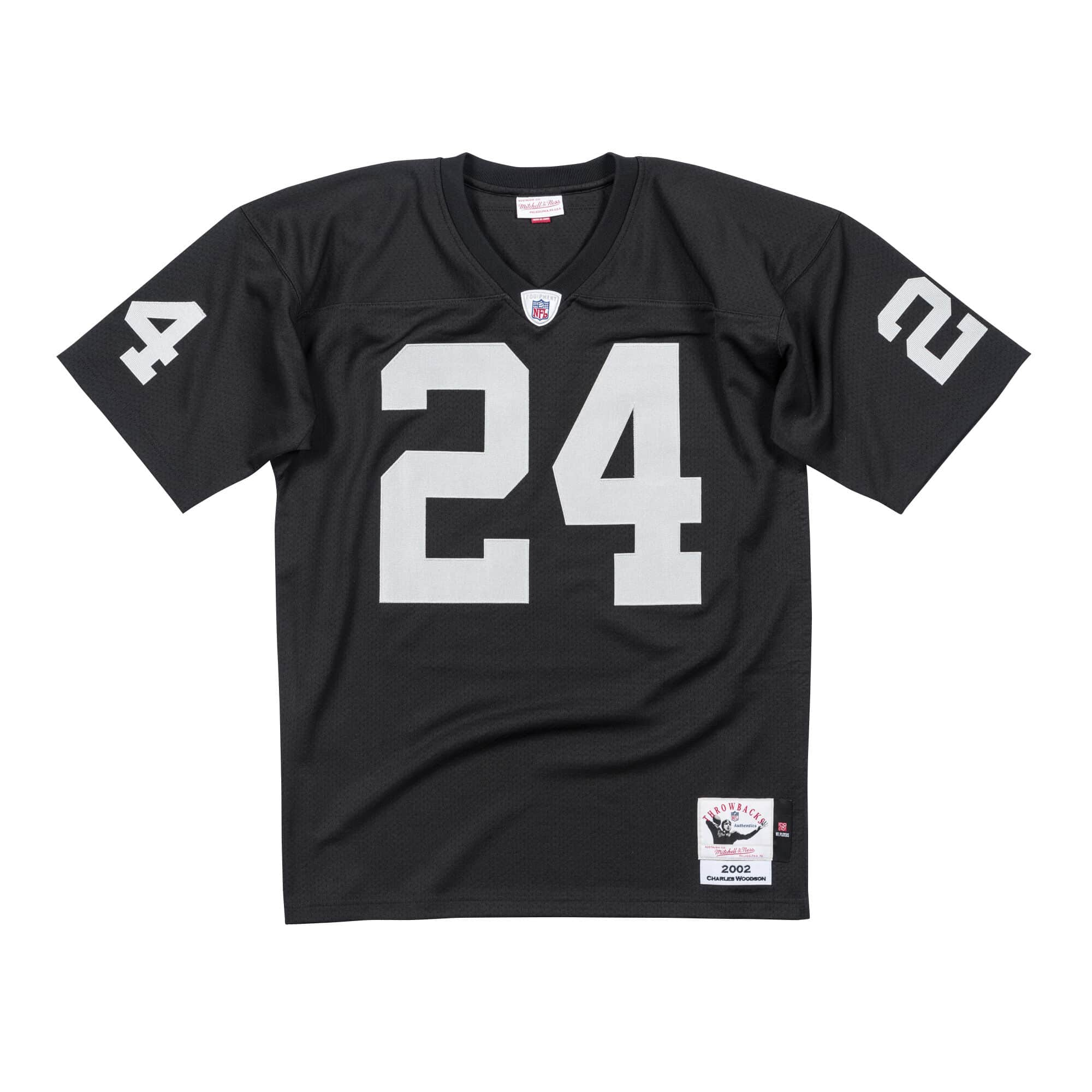 Charles Woodson 2002 Authentic Jersey Oakland Raiders