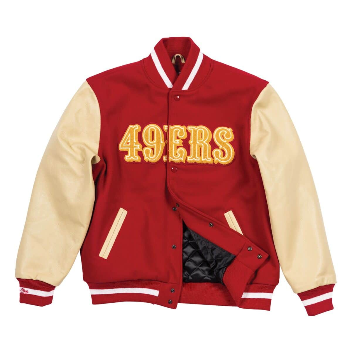 Authentic Wool Varsity Jacket San Francisco 49ers