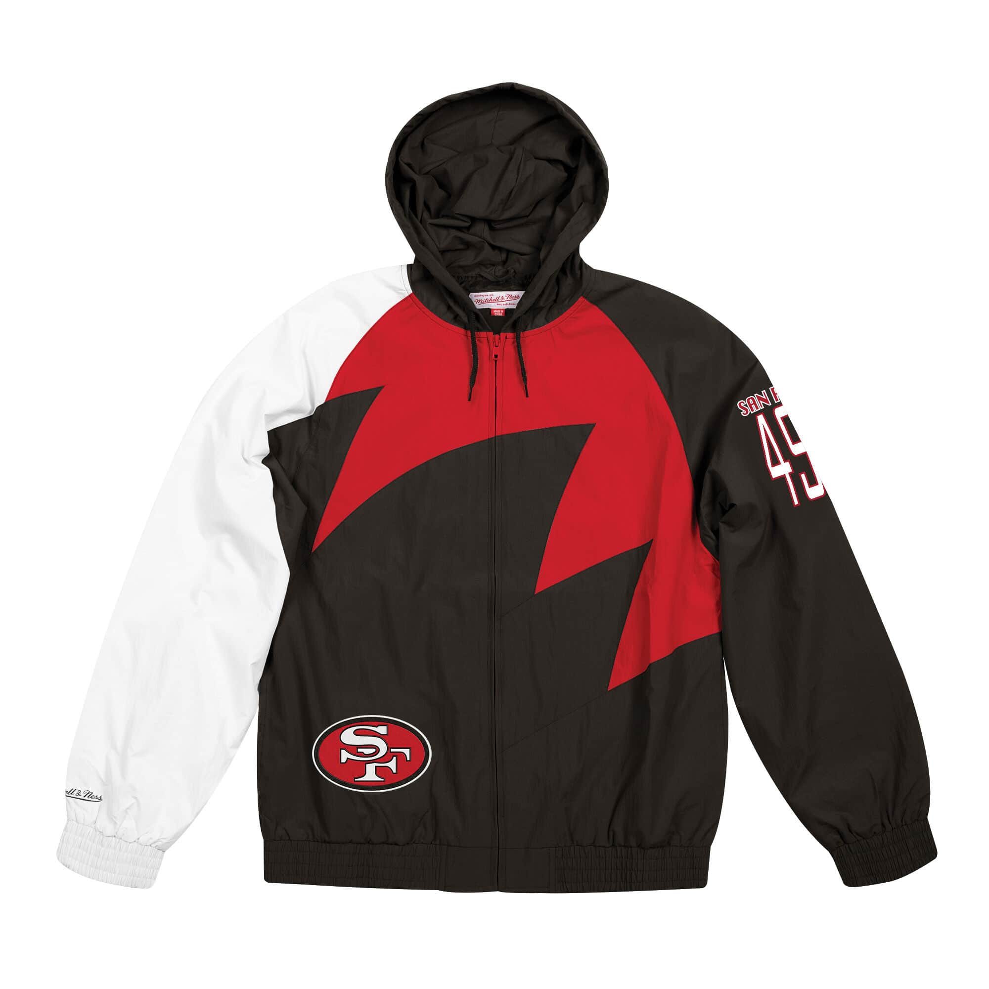 Shark Tooth Jacket San Francisco 49ers