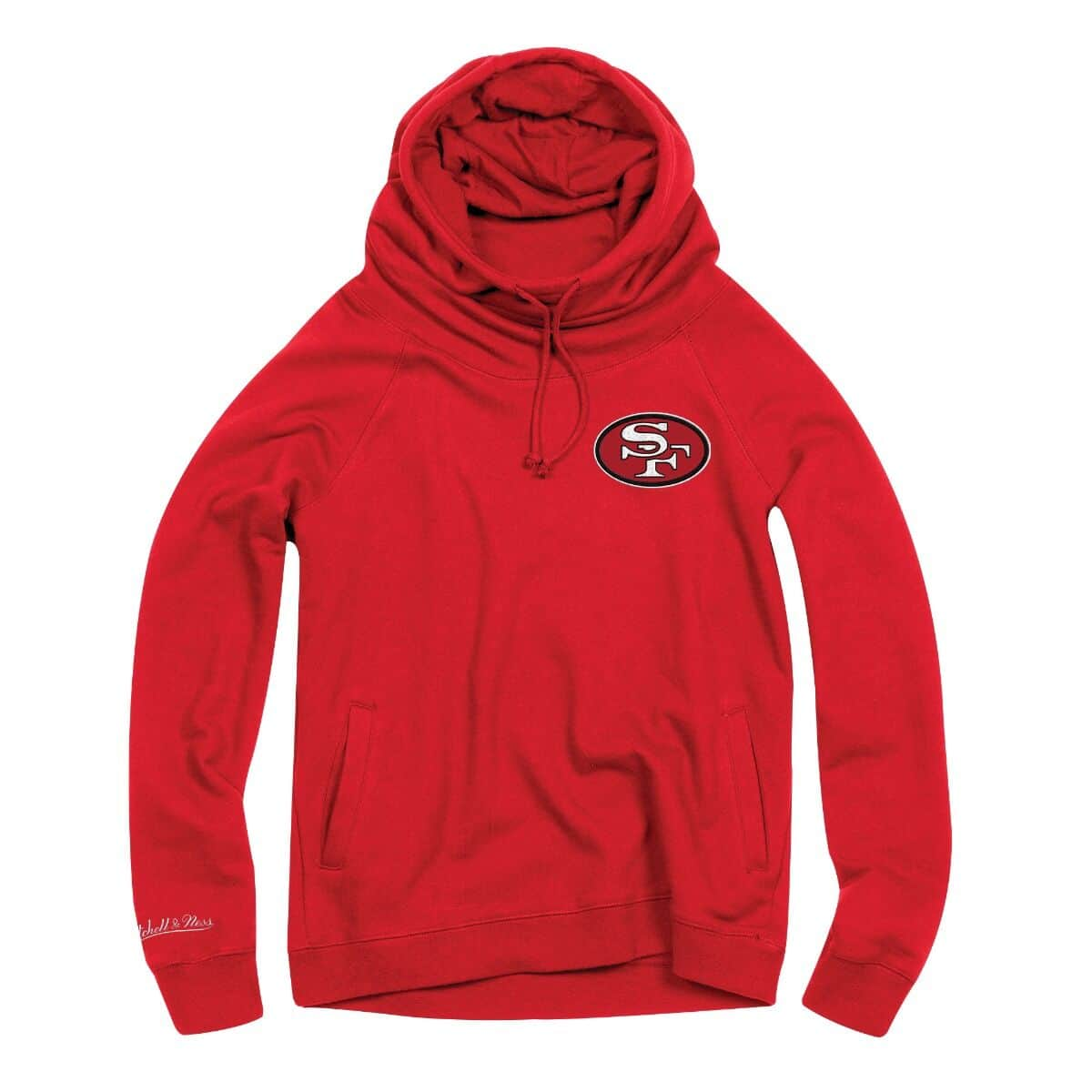 Women's Funnel Neck Hoody San Francisco 49ers