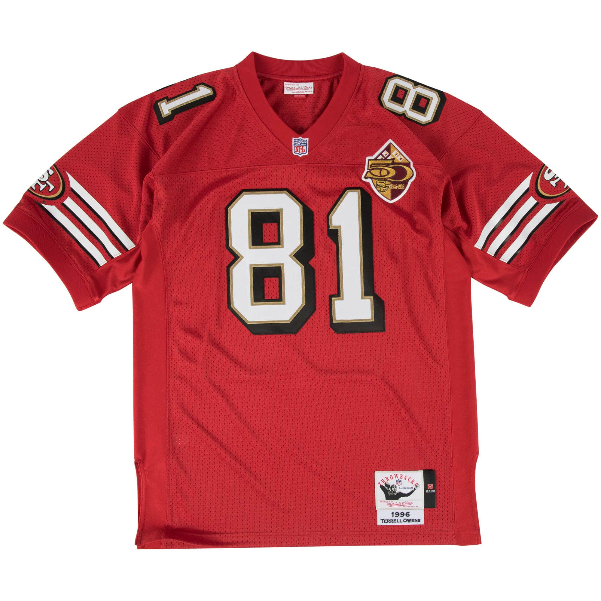 Terrell Owens Authentic Jersey 1996 San Francisco 49ers