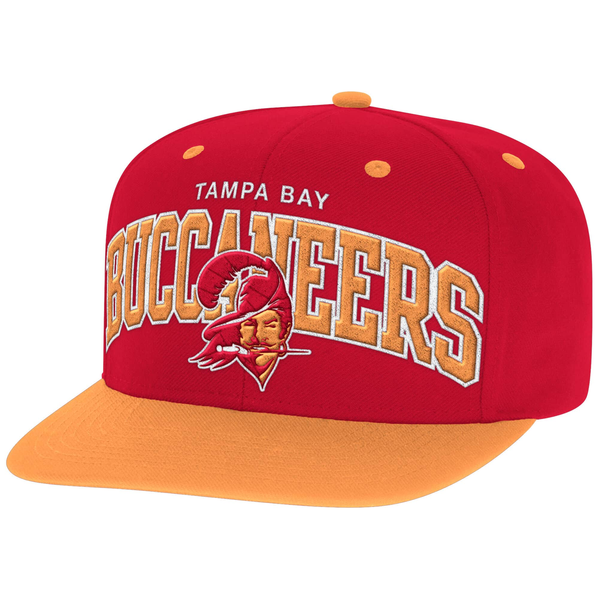 Arch with Logo Snapback Tampa Bay Buccaneers