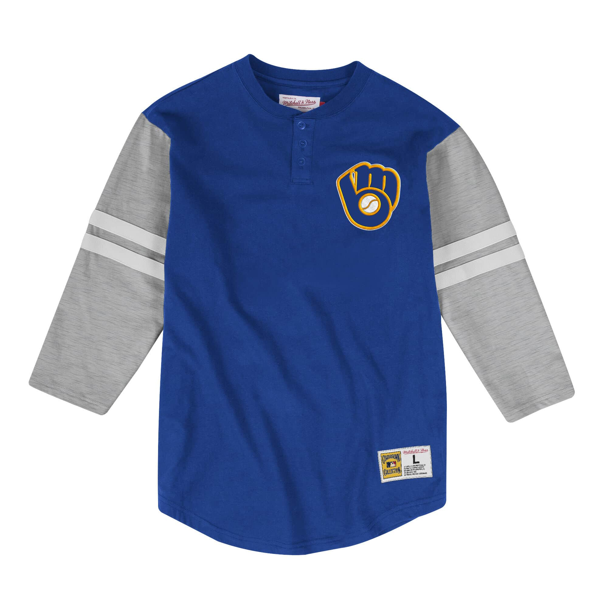 Team Logo Henley Milwaukee Brewers