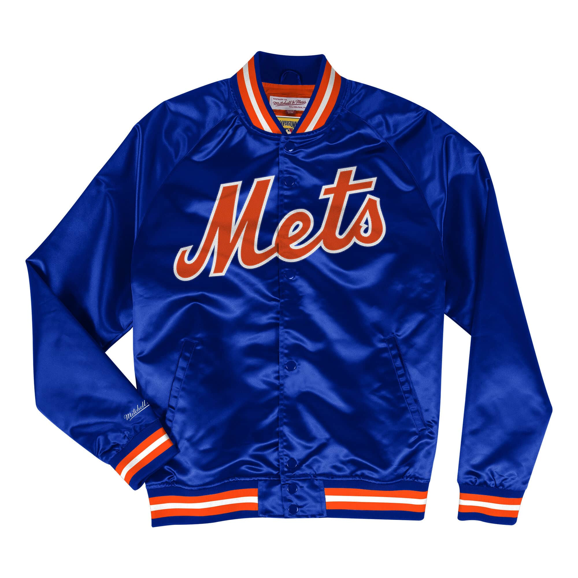 Lightweight Satin Jacket New York Mets
