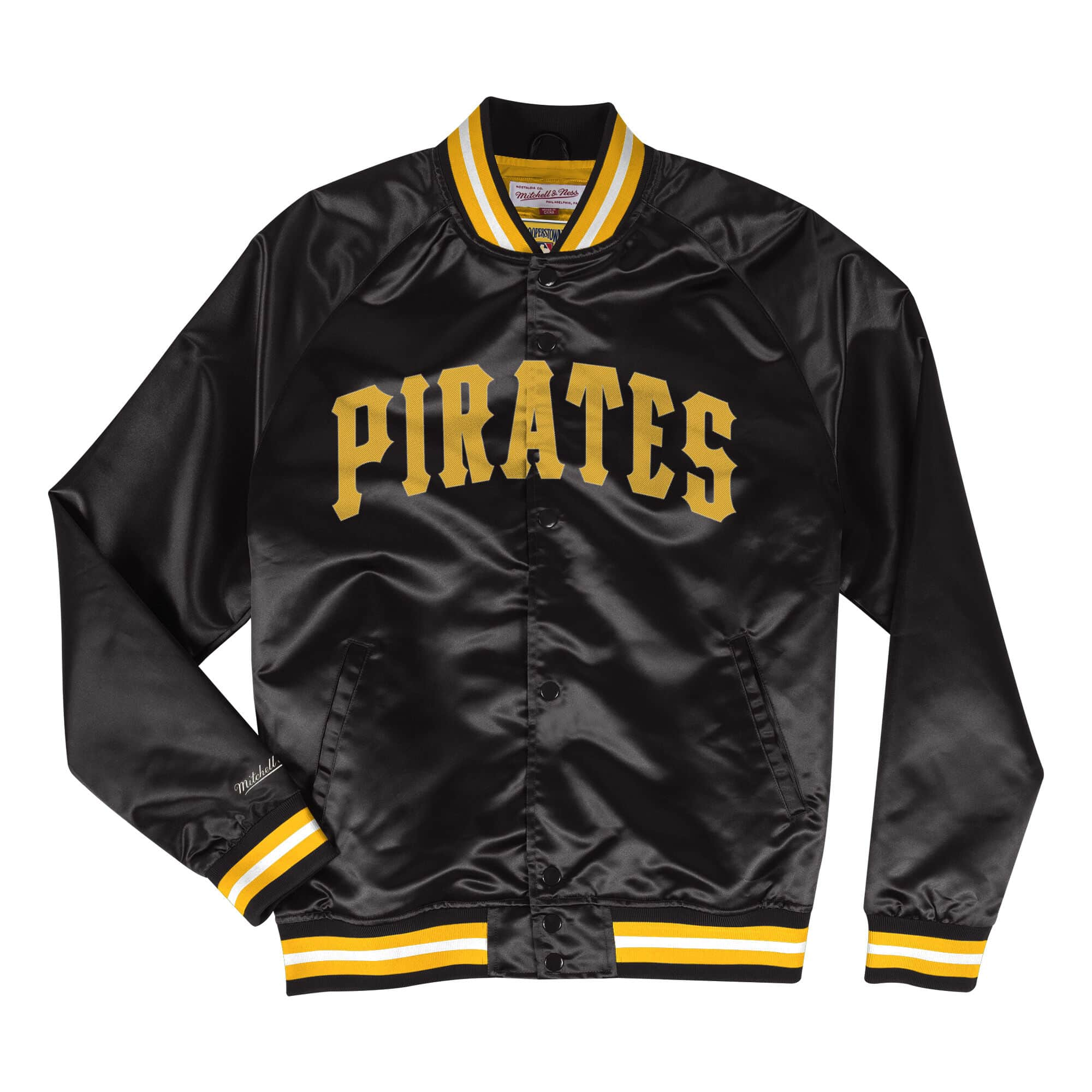 Lightweight Satin Jacket Pittsburgh Pirates