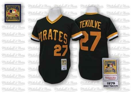 Kent Tekulve 1979 Authentic Jersey Pittsburgh Pirates