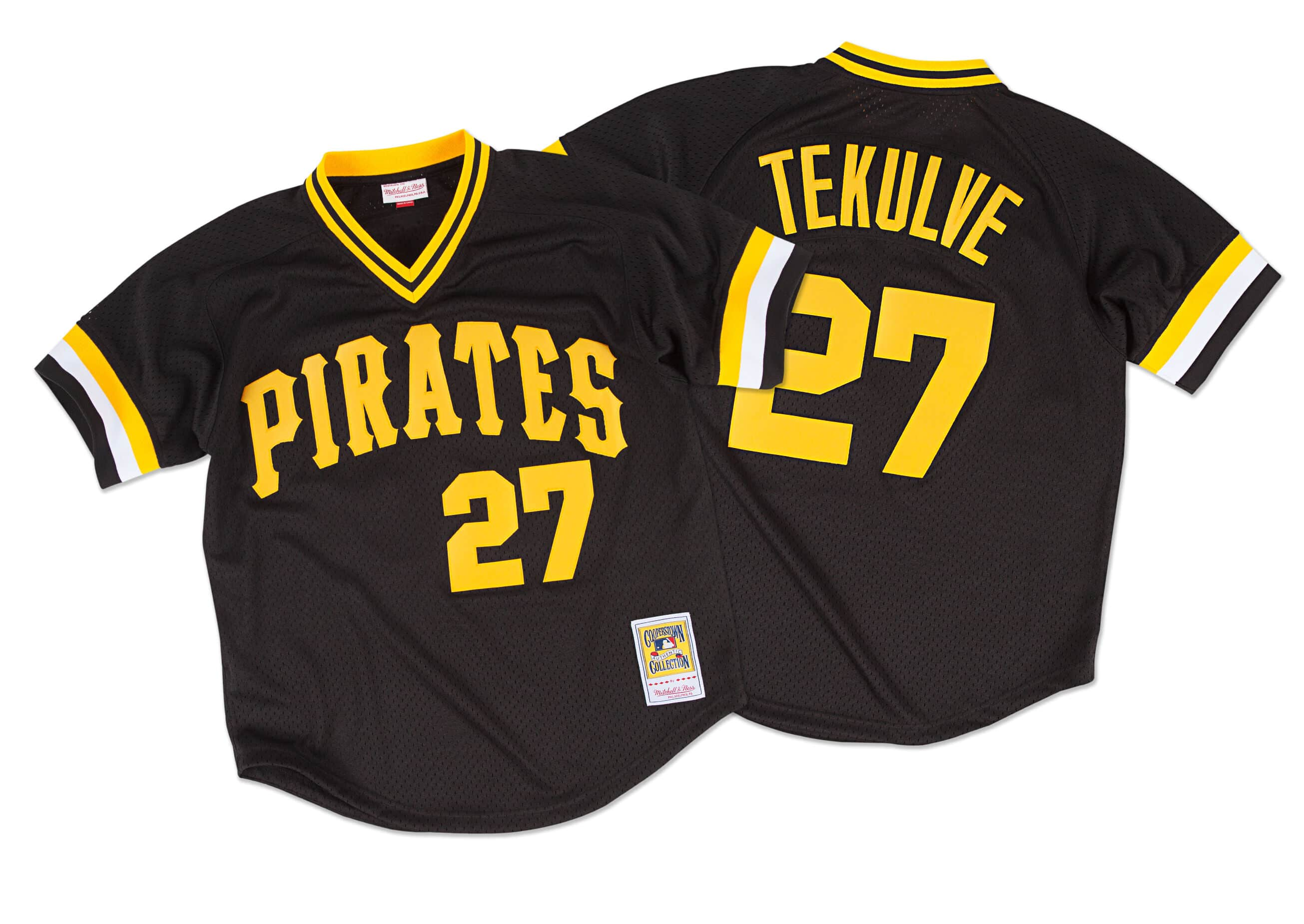 Kent Tekulve 1982 Authentic Mesh BP Jersey Pittsburgh Pirates