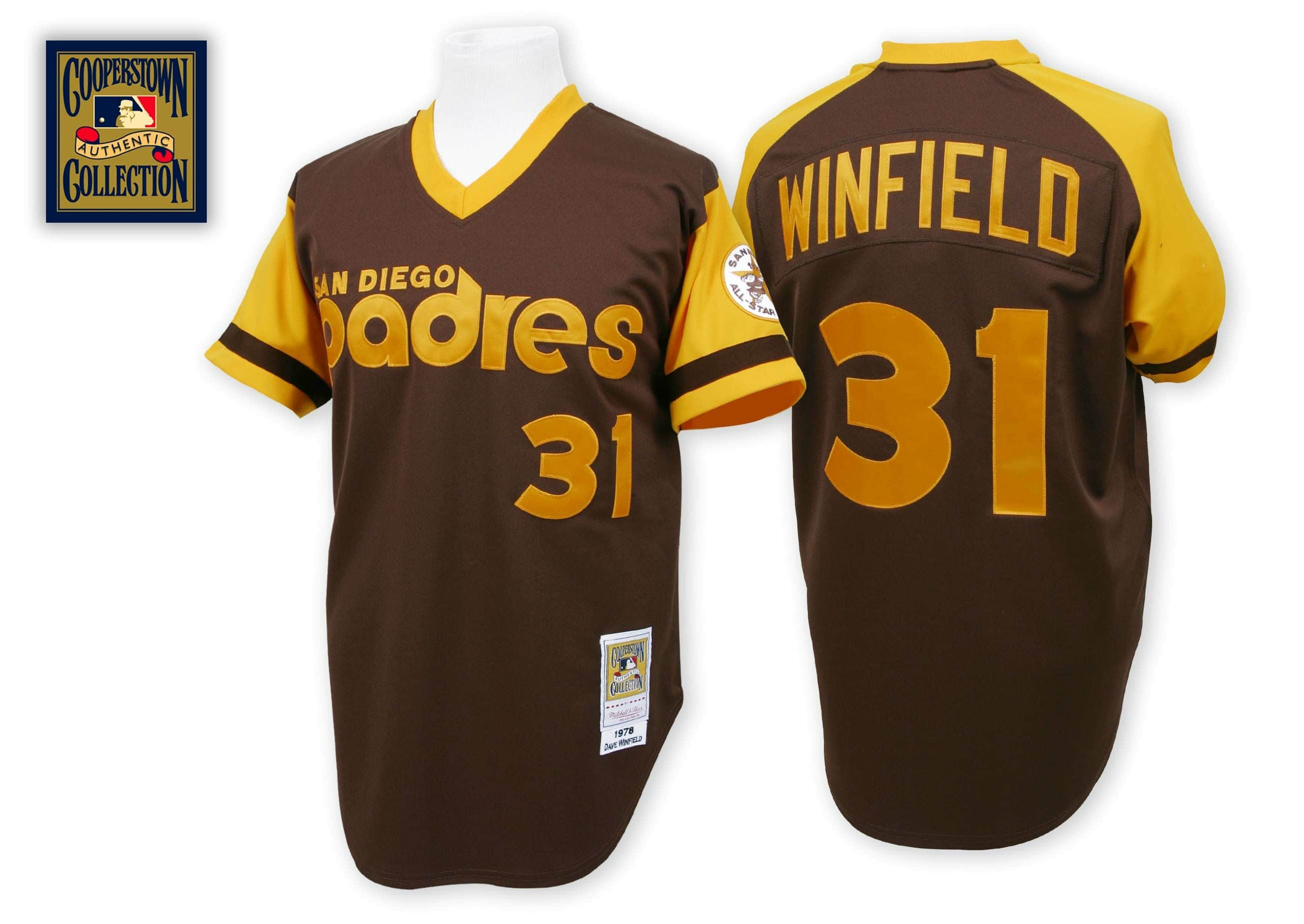 Dave Winfield 1978 Authentic Jersey San Diego Padres