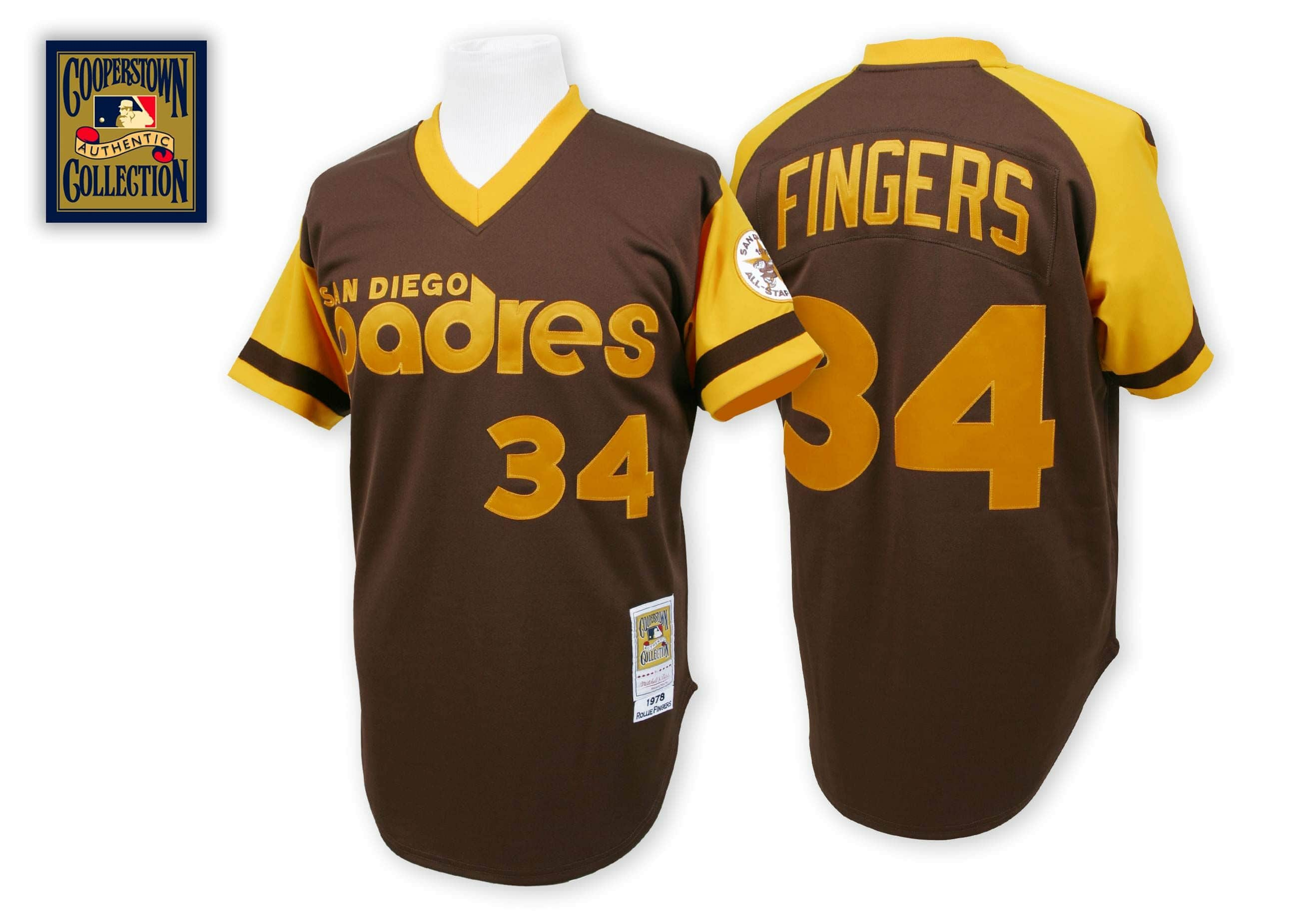 Rollie Fingers 1978 Authentic Jersey San Diego Padres