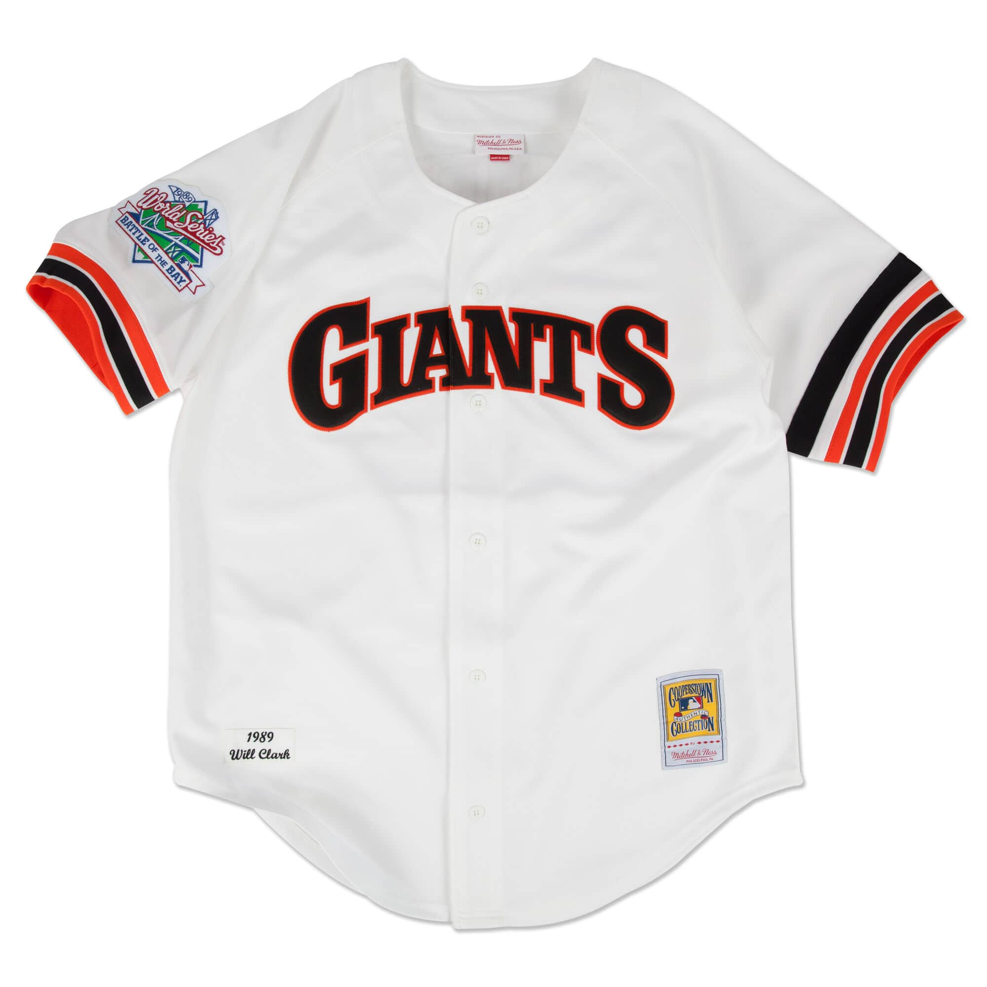 Will Clark 1989 Authentic Jersey San Francisco Giants
