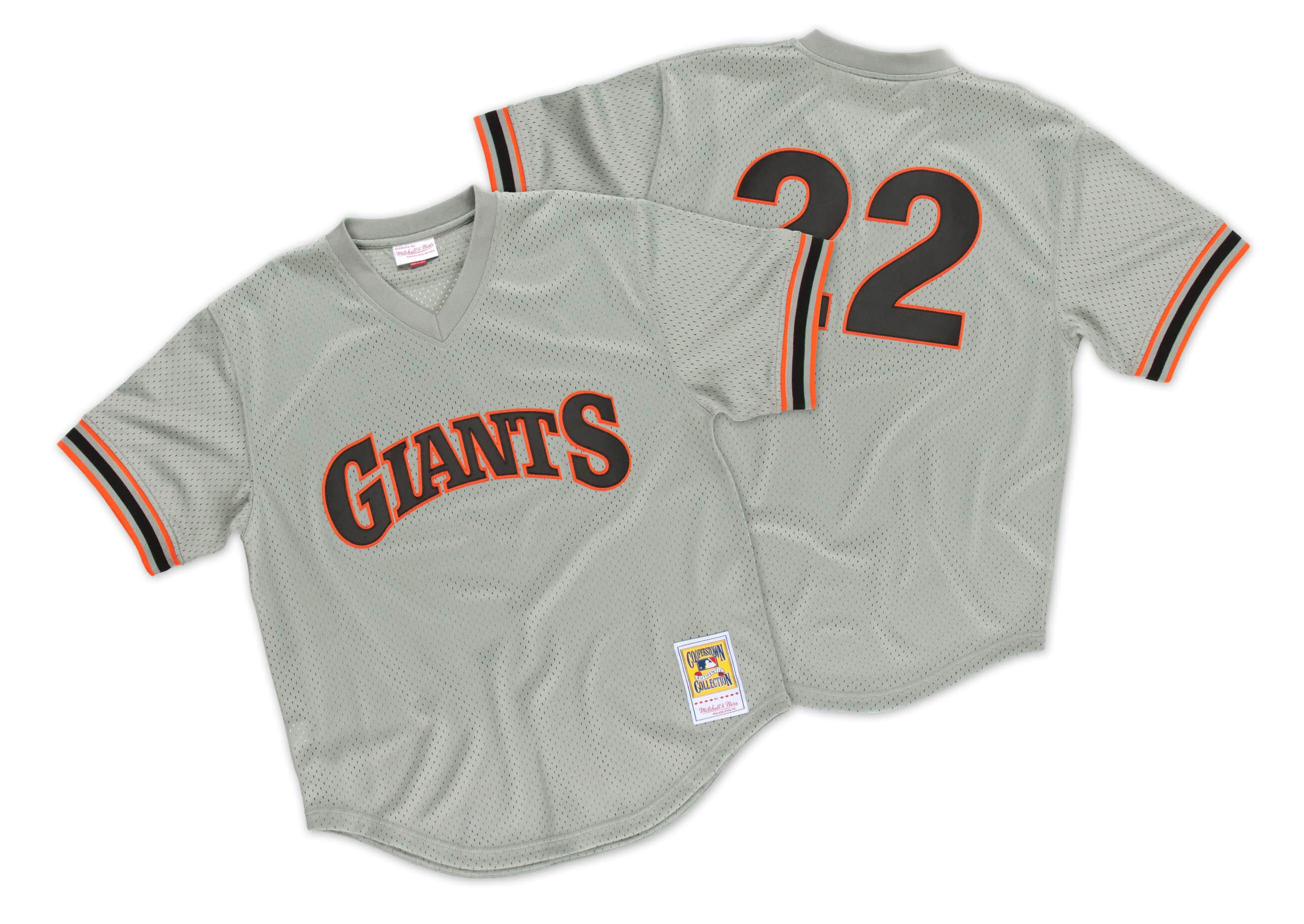 Will Clark 1989 Authentic Mesh BP Jersey San Francisco Giants