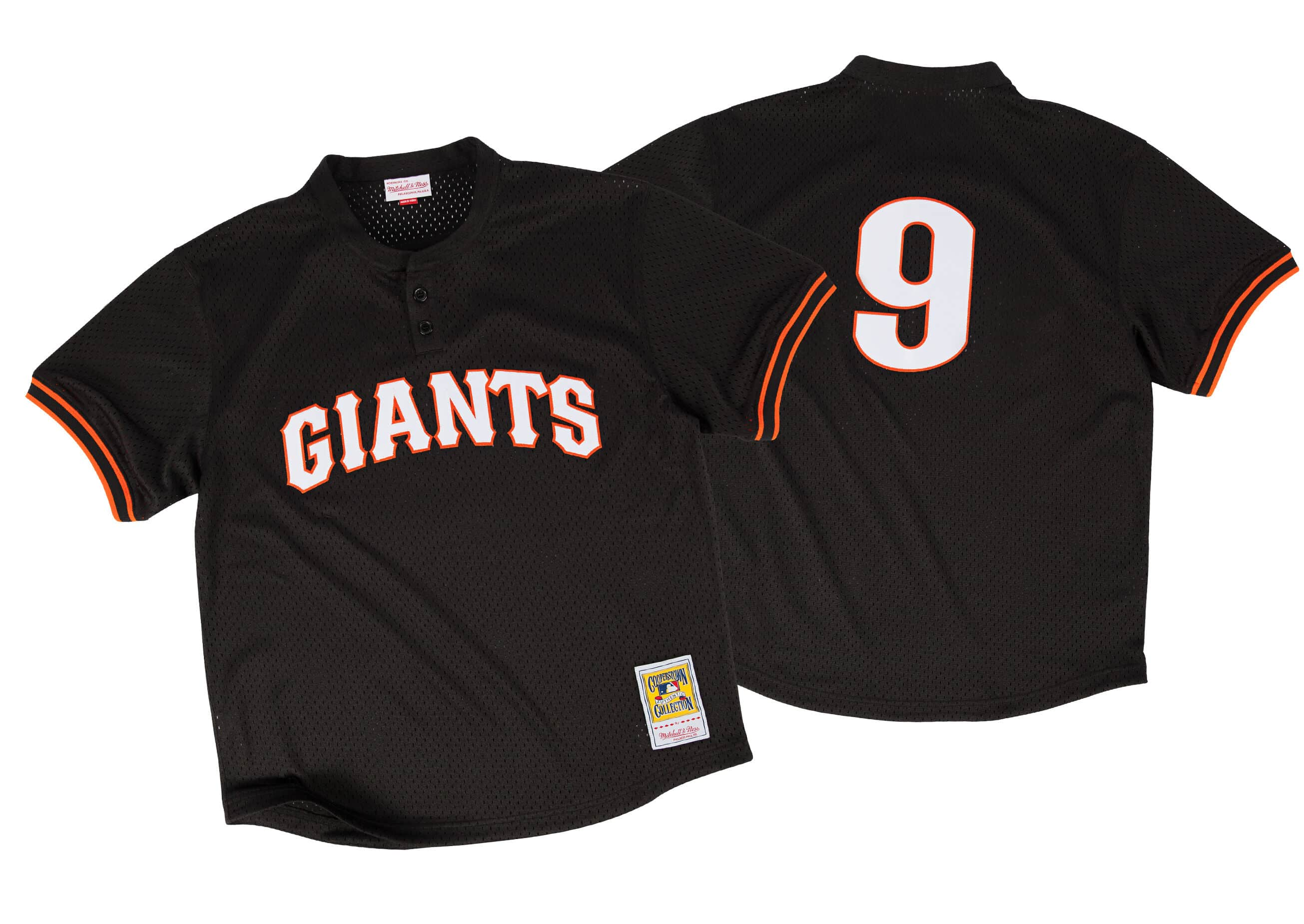 Matt Williams 1995 Authentic Mesh BP Jersey San Francisco Giants