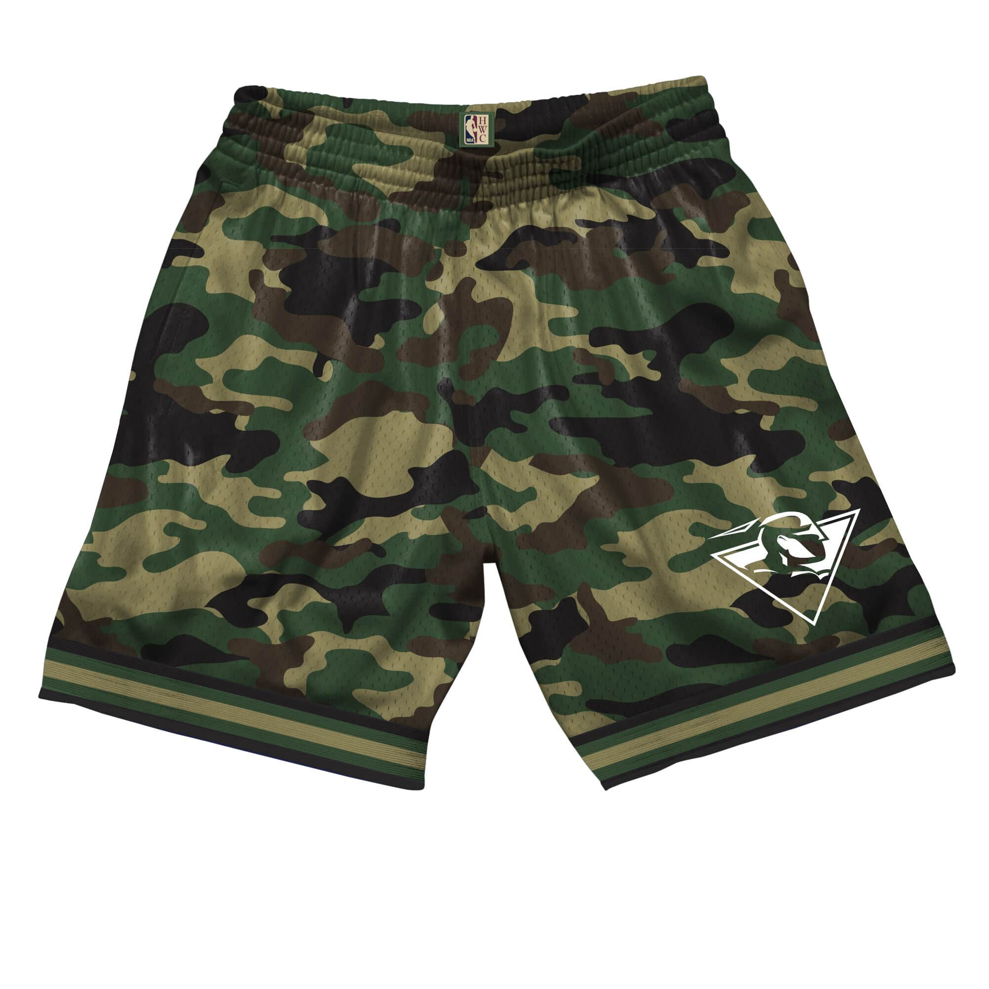 Camo Mesh Shorts Golden State Warriors