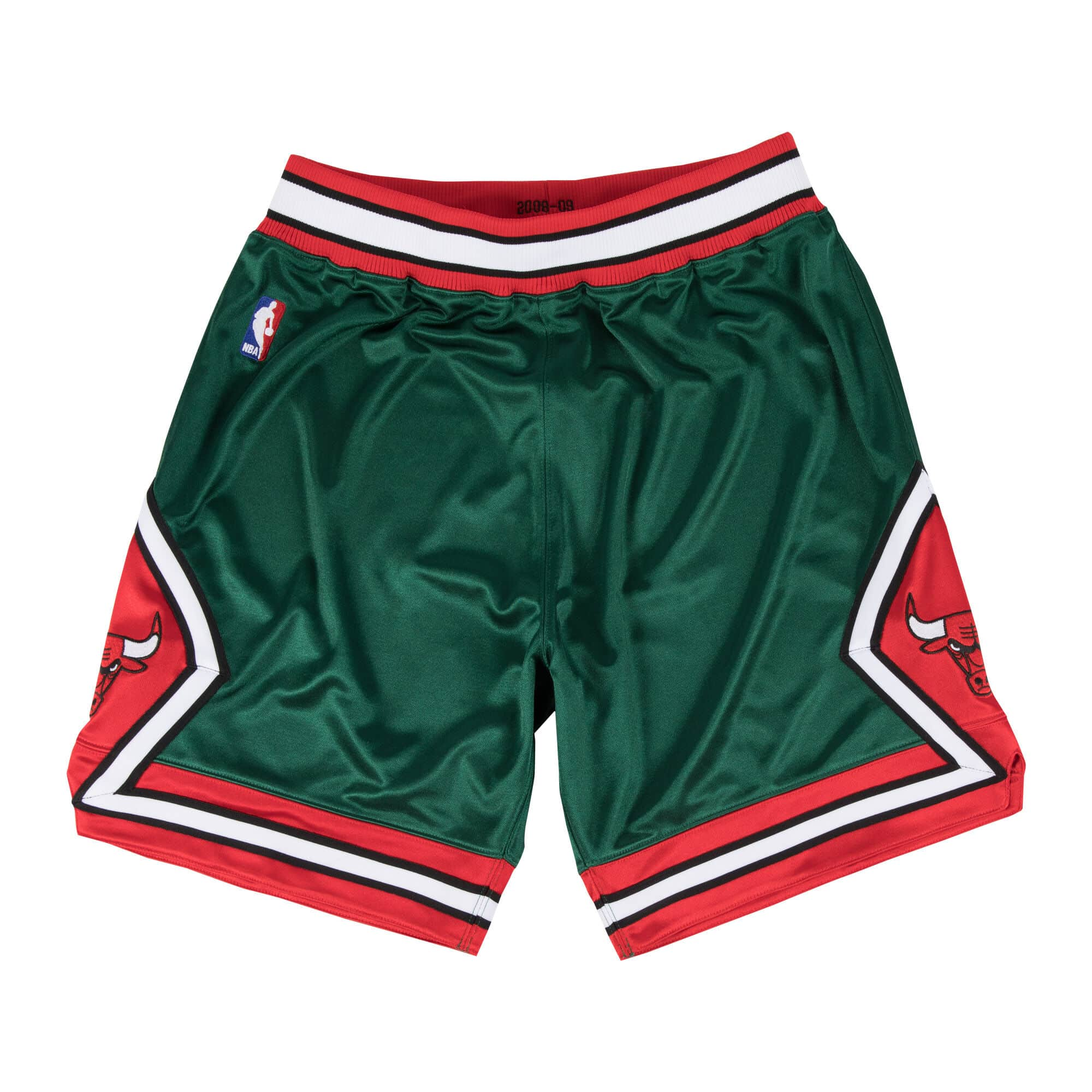 Authentic Shorts Chicago Bulls Green Week 2008-09